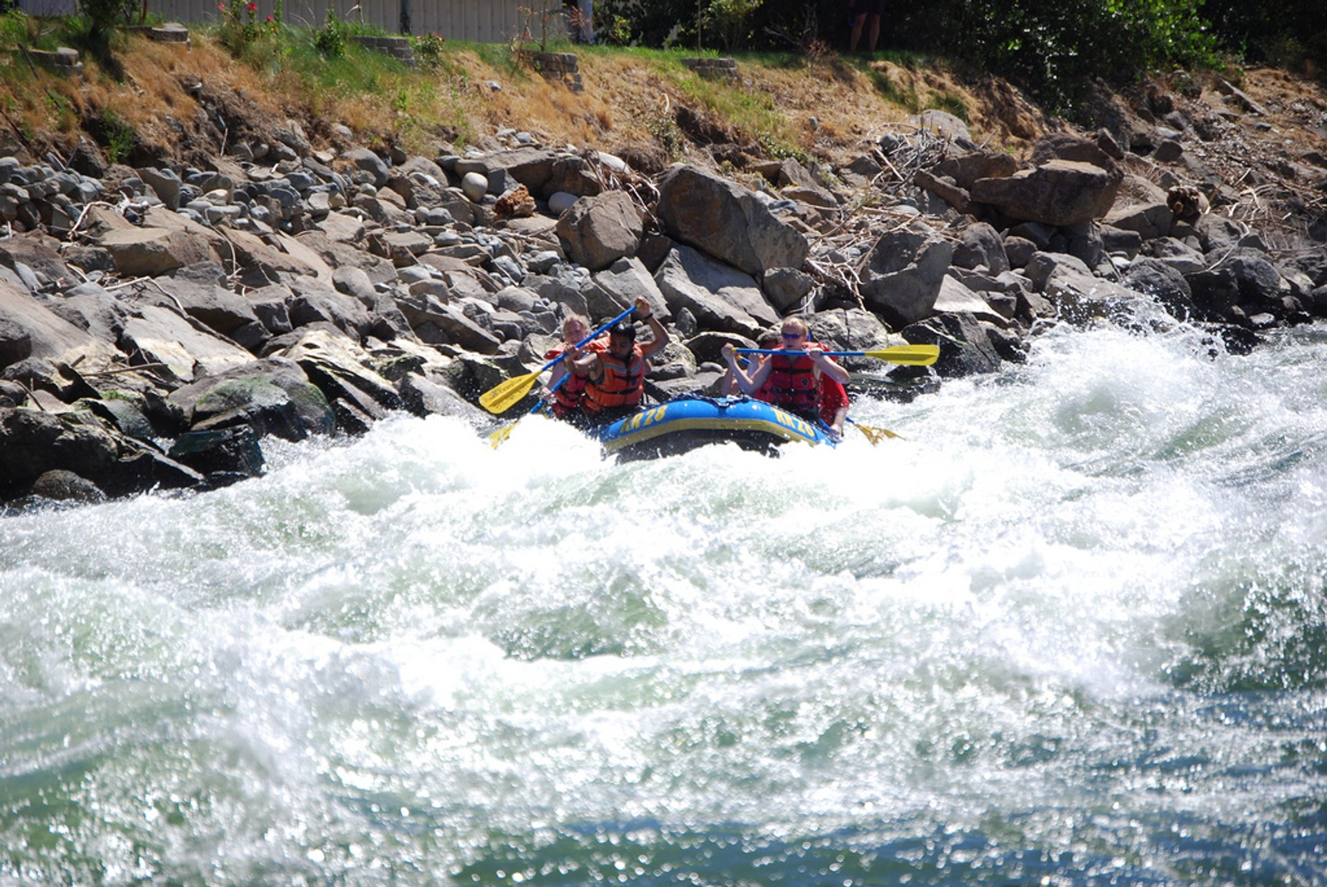 Rafting at Wenatchee River 2020