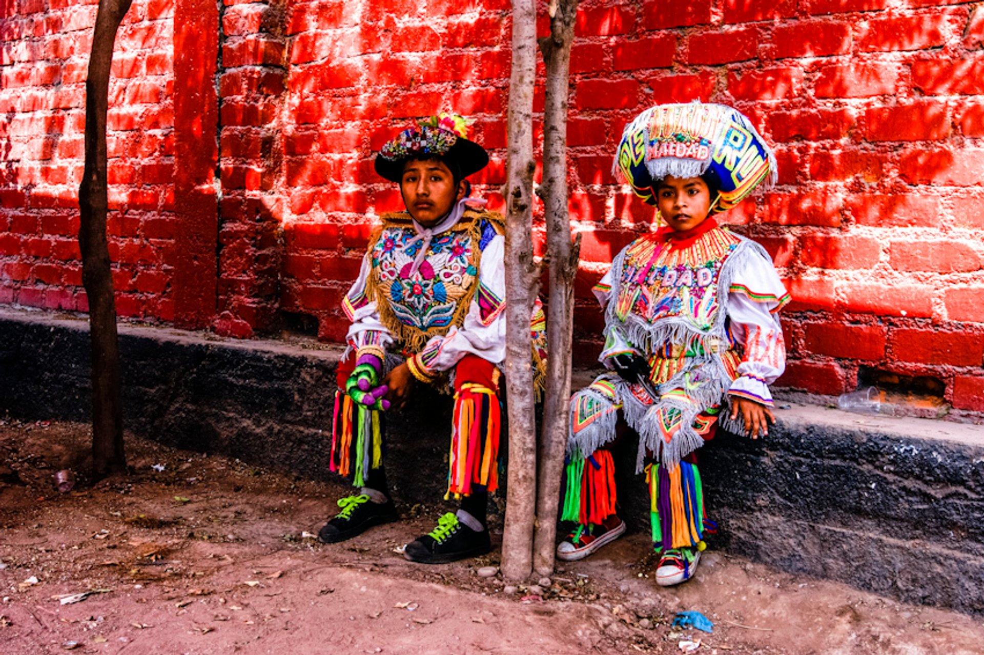 Best time to see Scissors Dance or La Danza de las Tijeras in Peru 2019