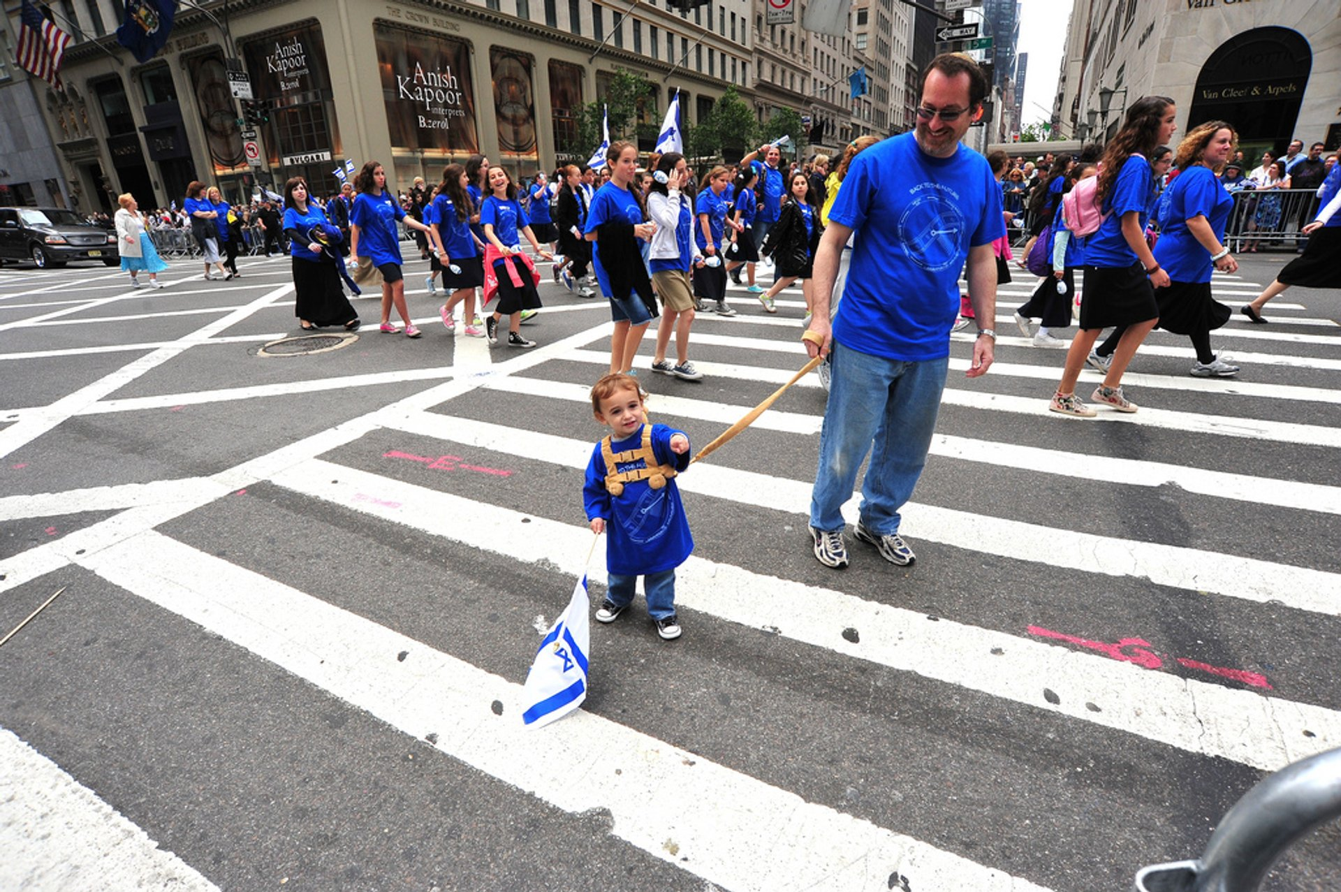 Best time to see Celebrate Israel Parade in New York 2020