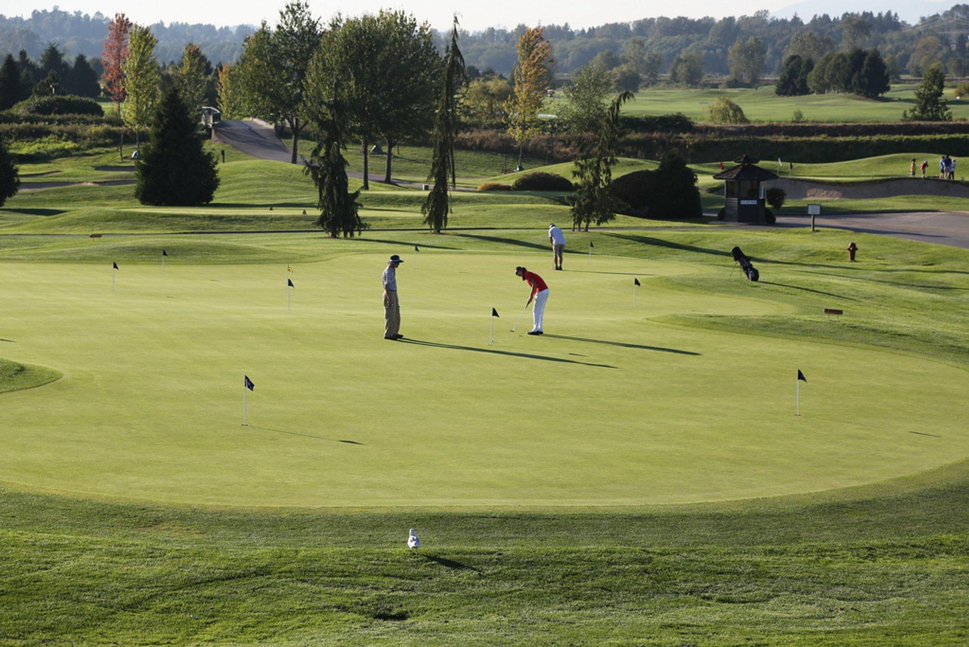 Golf in Vancouver - Best Season 2020