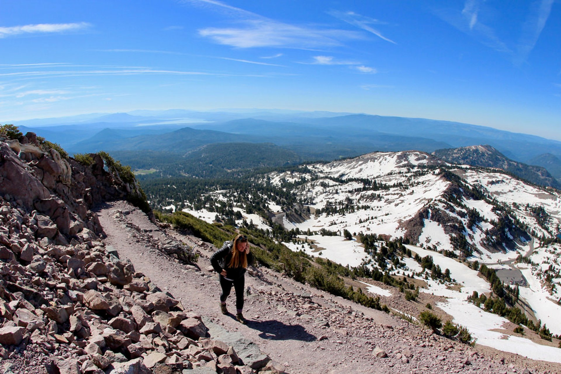 Hiking the Lassen Peak Trail 2019