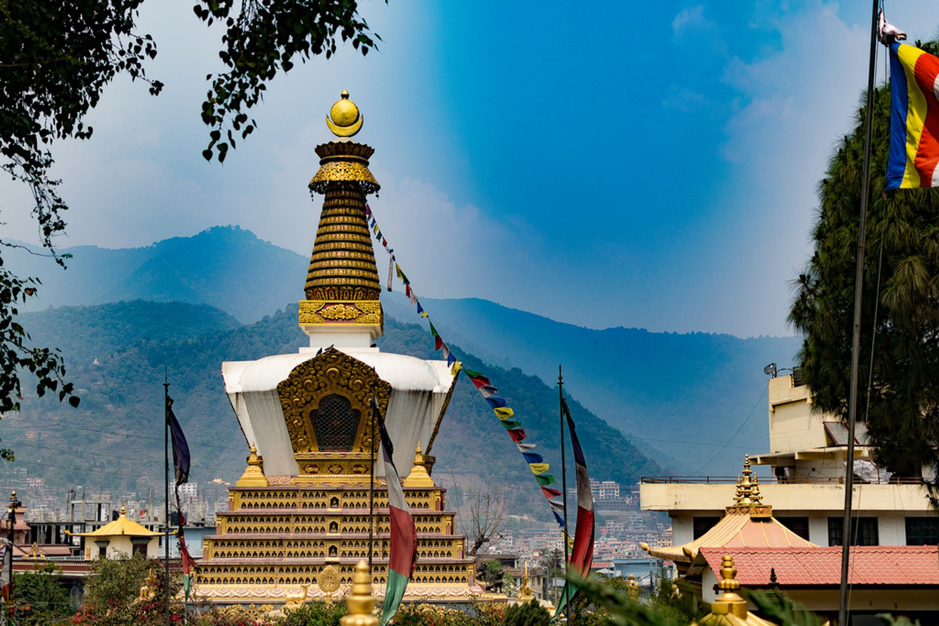 Best time for Swayambhunath (Monkey Temple) in Kathmandu 2020
