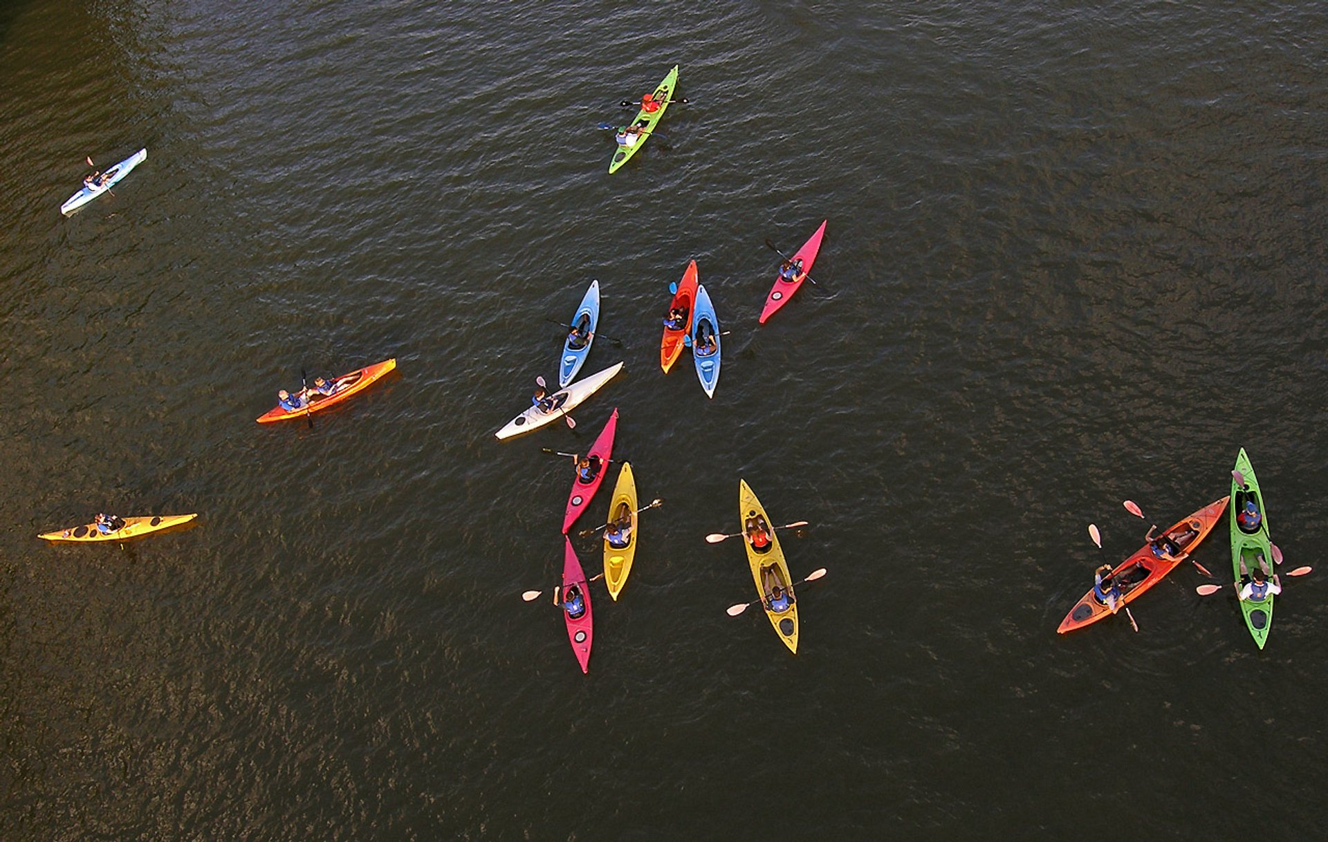 Best time for Kayaking, Paddling, and Canoeing on the Potomac in Washington, D.C. 2020
