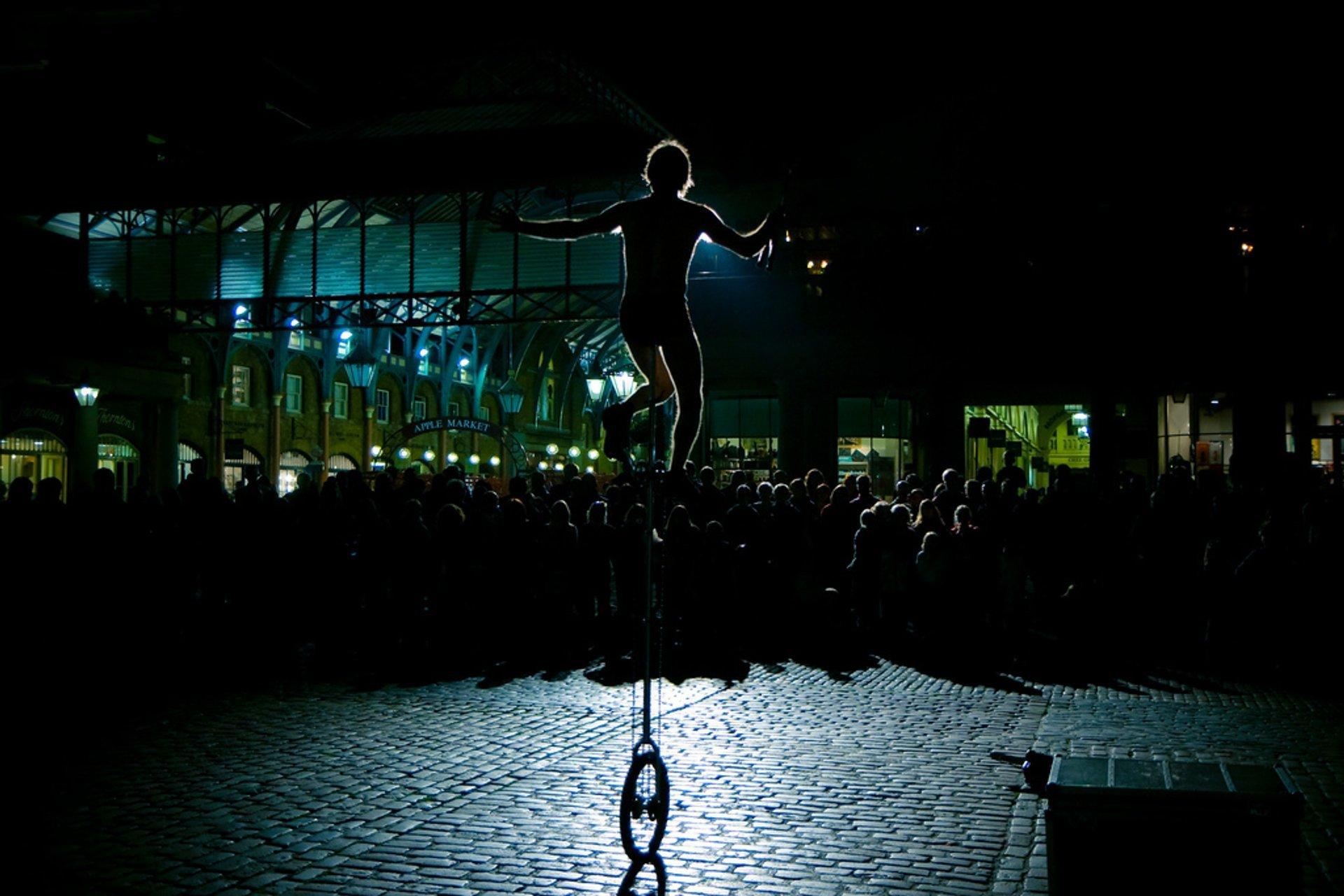 Street Performances in London 2019 - Best Time