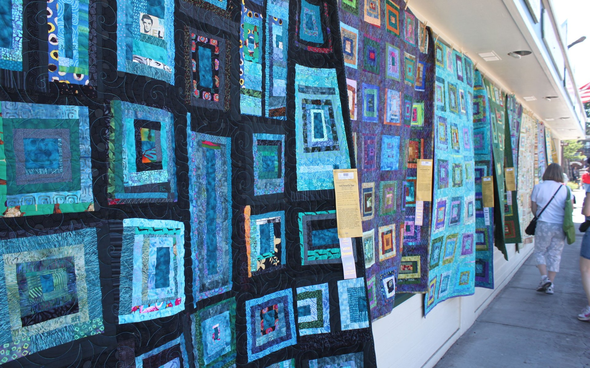Best time to see Sisters Outdoor Quilt Show in Oregon 2020