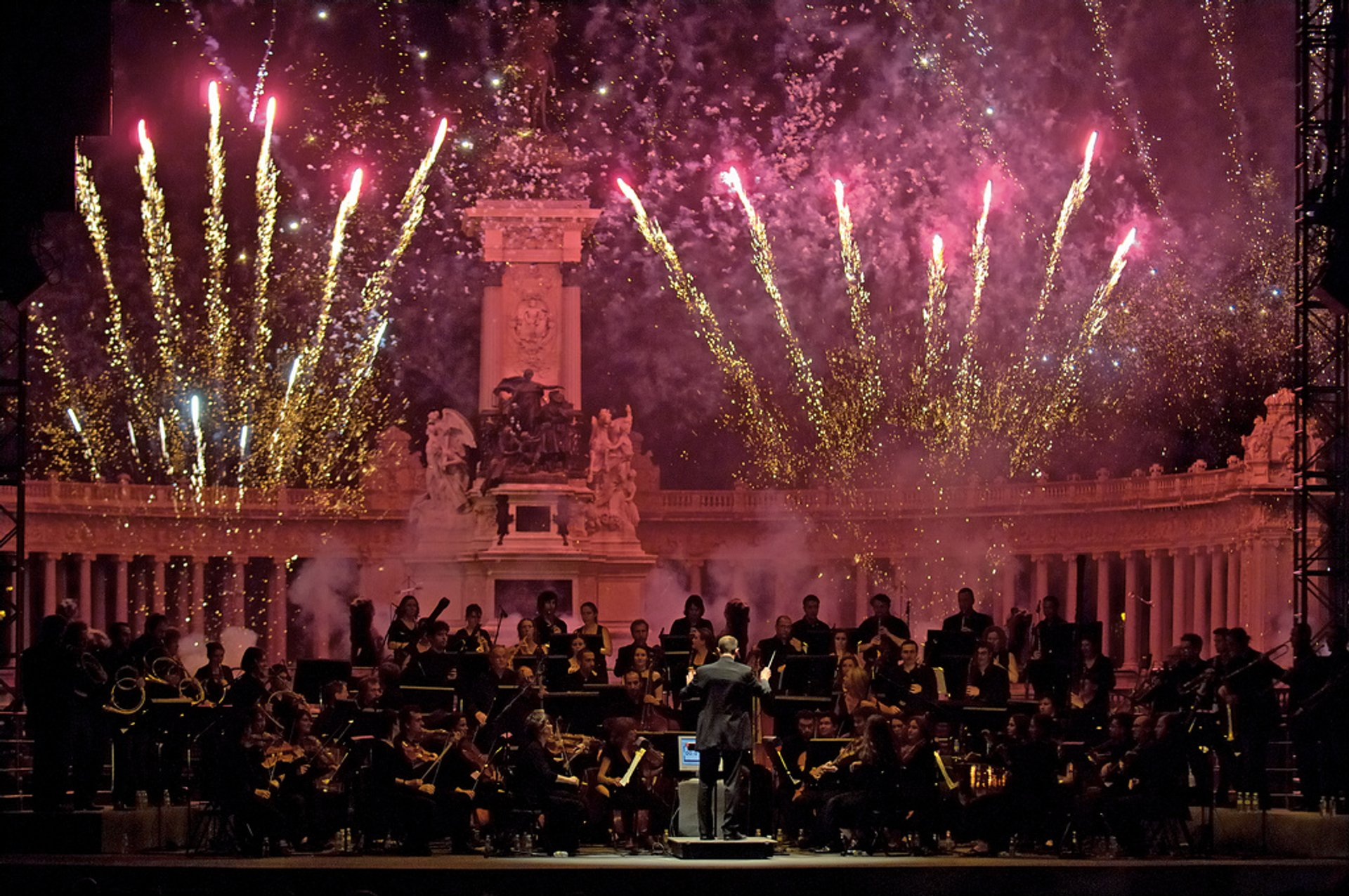 San Isidro Concert at Retiro Park 2020