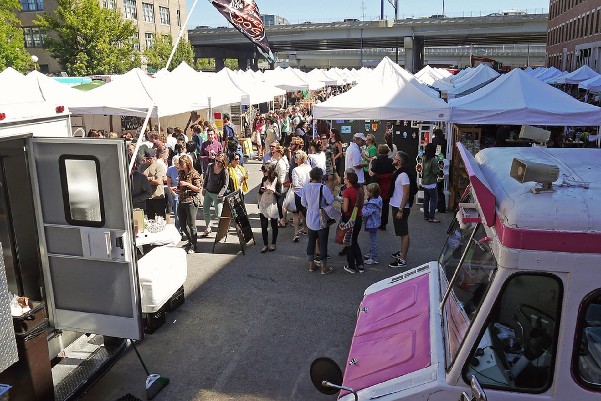 Best time to see SoWa Open Markets in Boston 2019