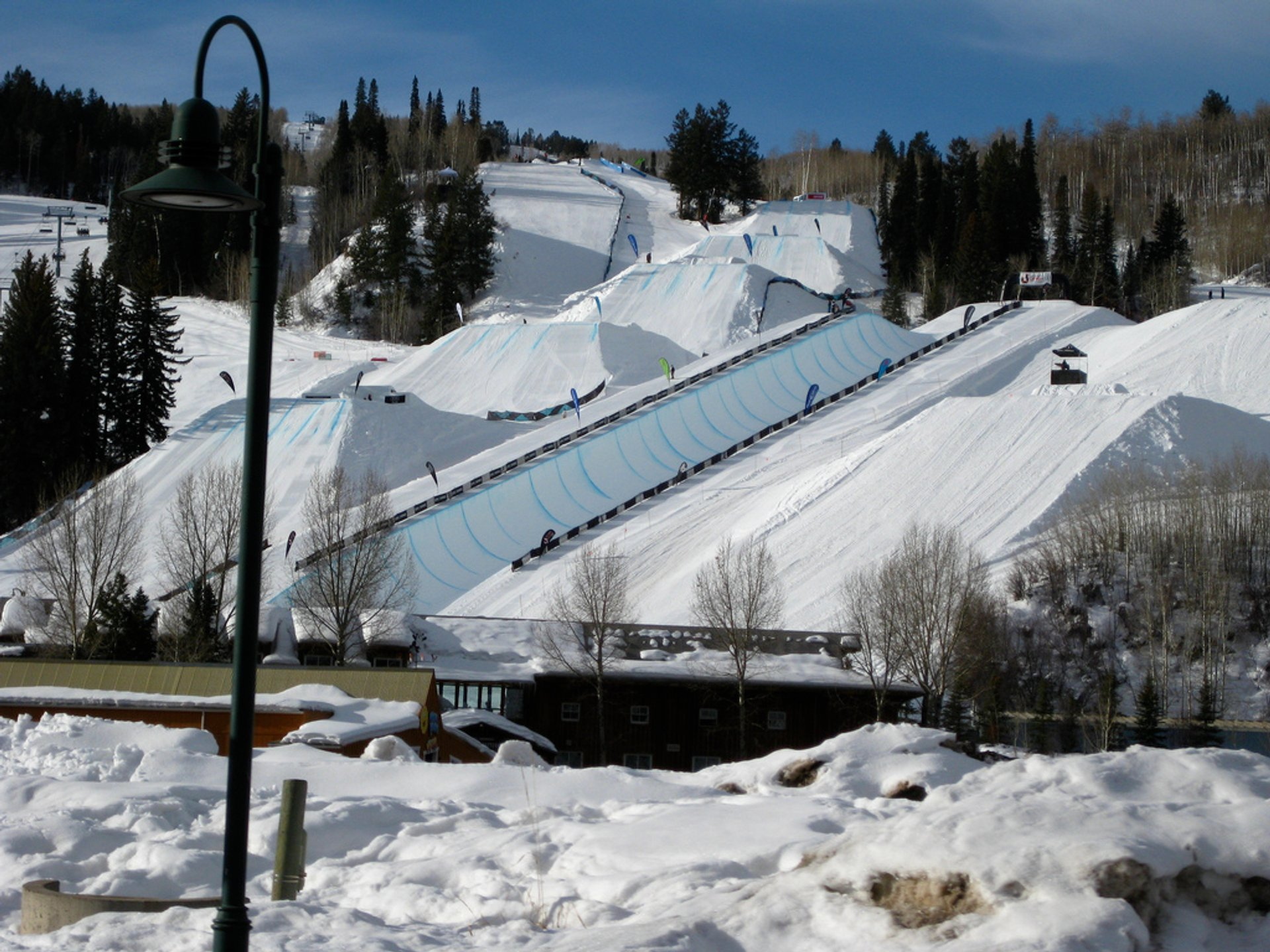 X Games venue at Buttermilk 2020