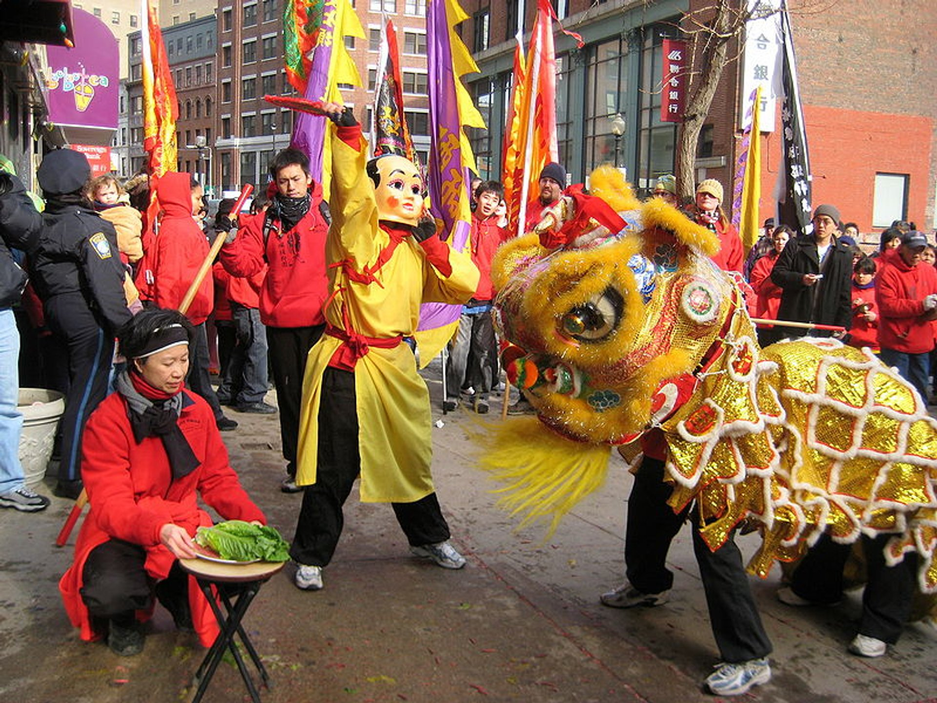 Best time to see Chinese New Year in Boston 2020