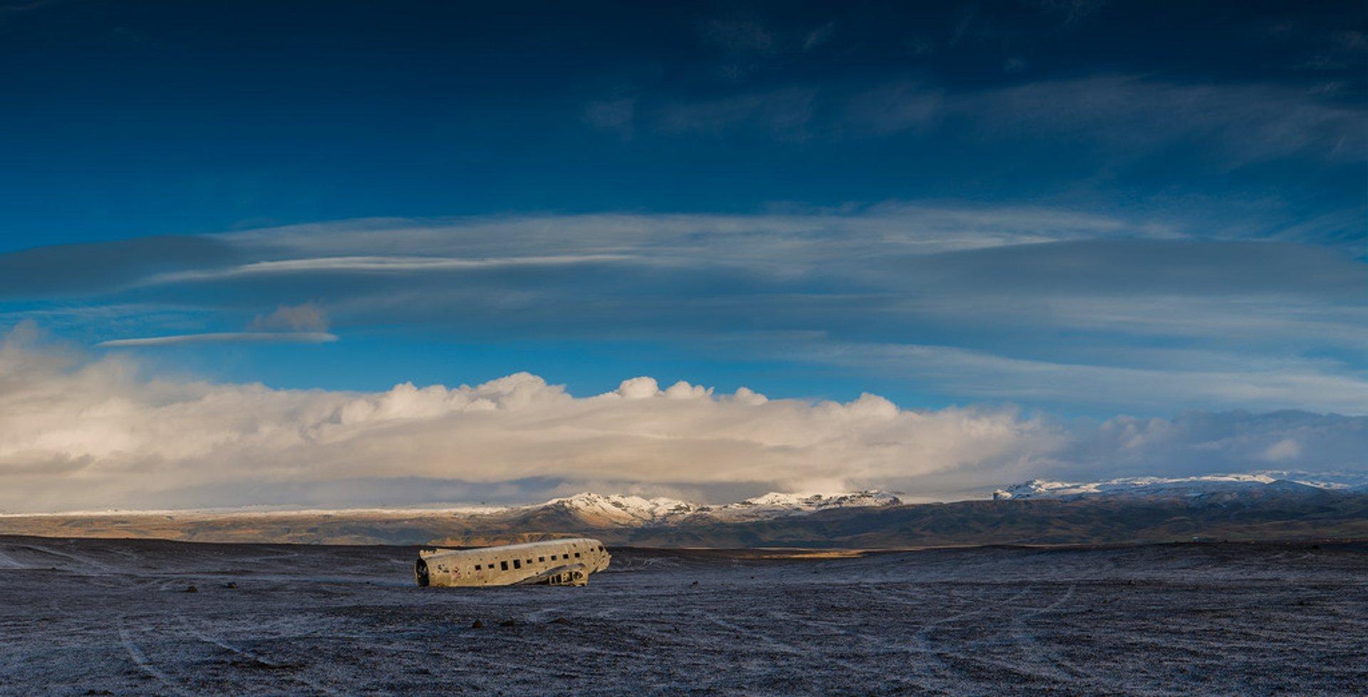 Sólheimasandur Plane Wreck in Iceland - Best Season 2020