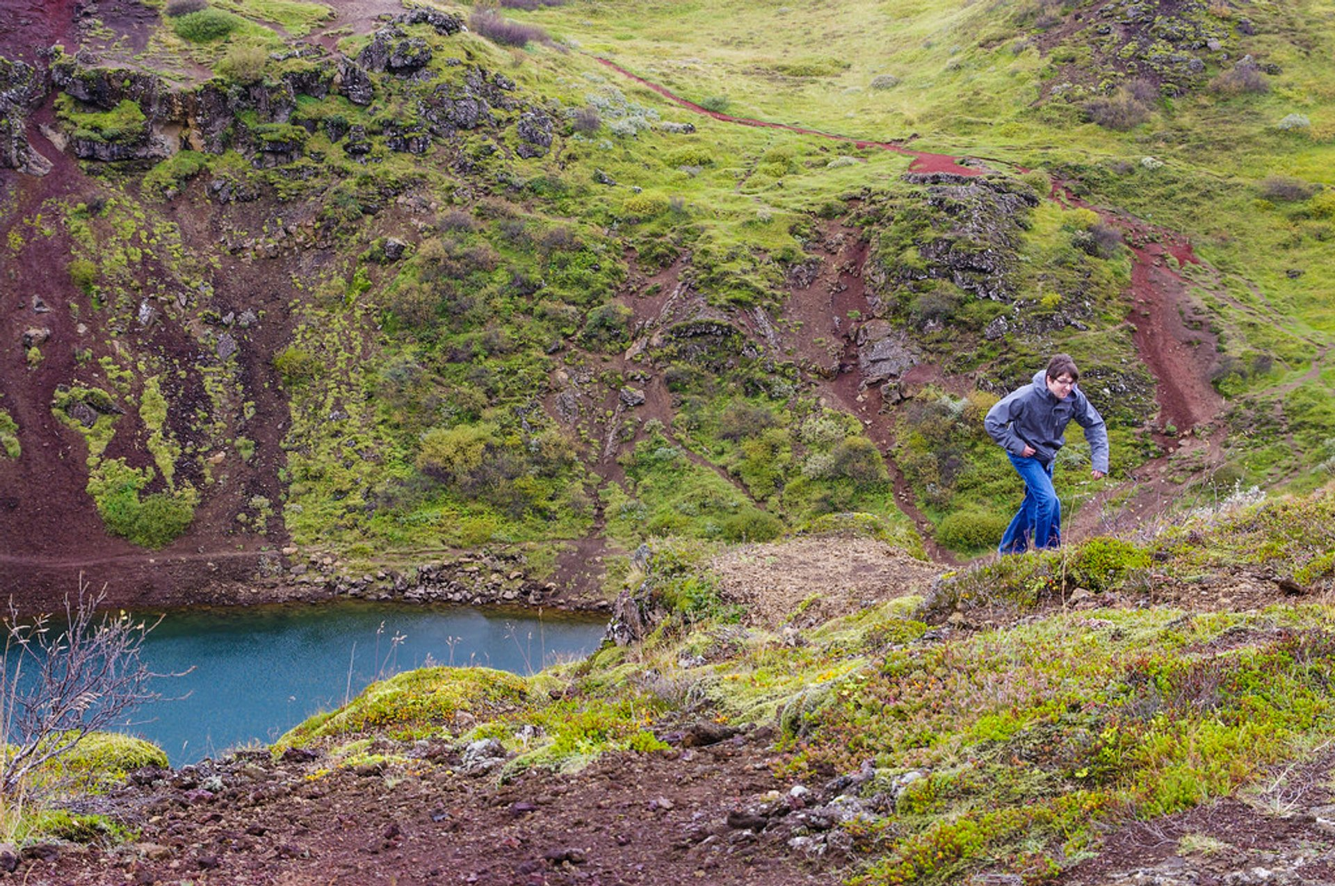 Best time for Kerid Crater Lake in Iceland 2020