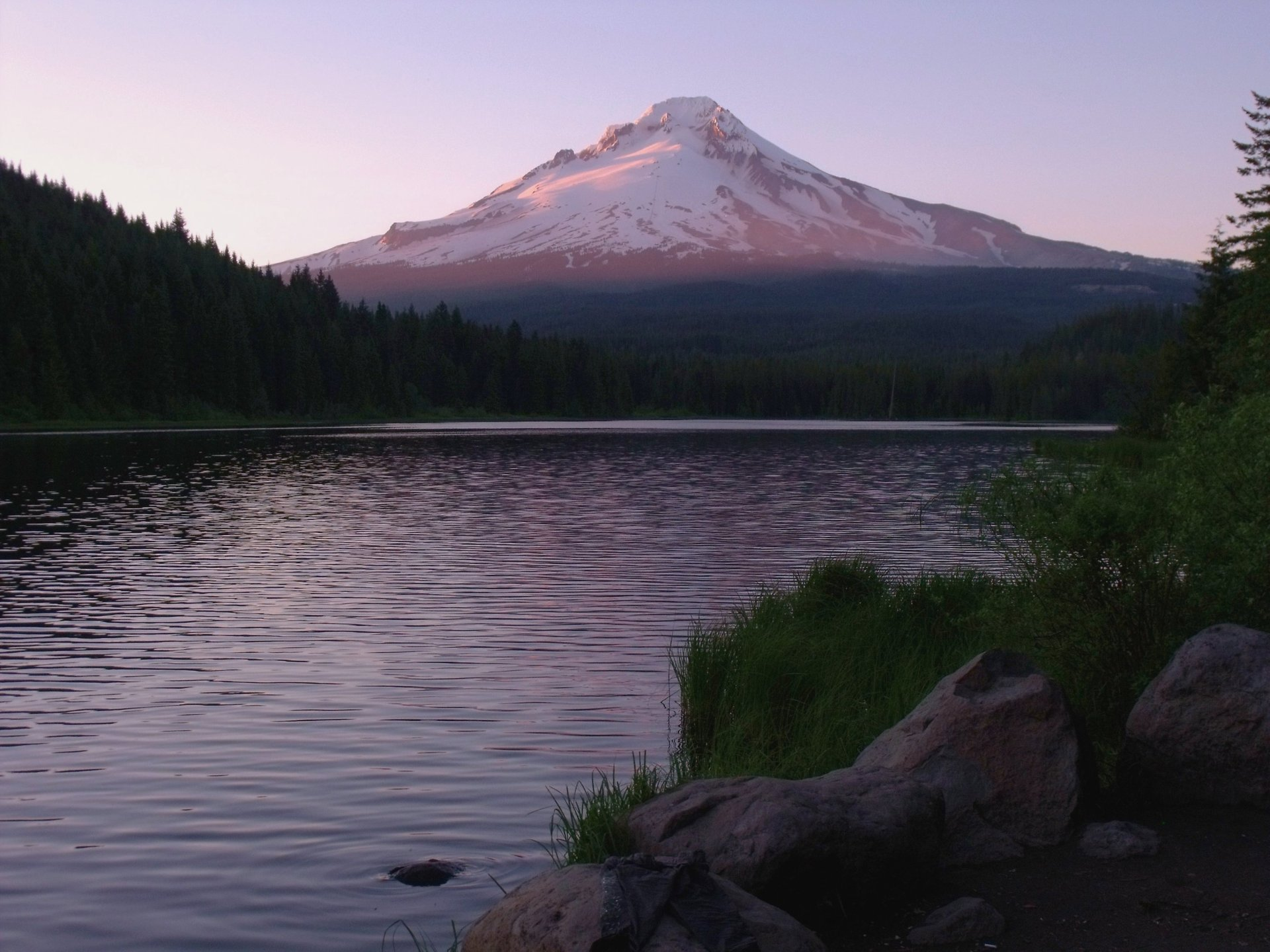 Mt. Hood at Trillium Lake 2020