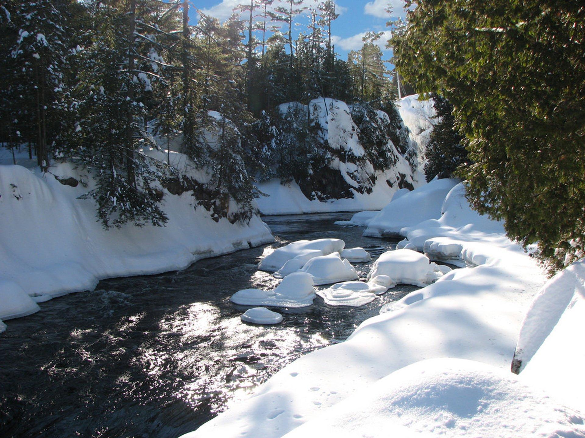 Dorwin falls (Rawdon, Quebec) 2020