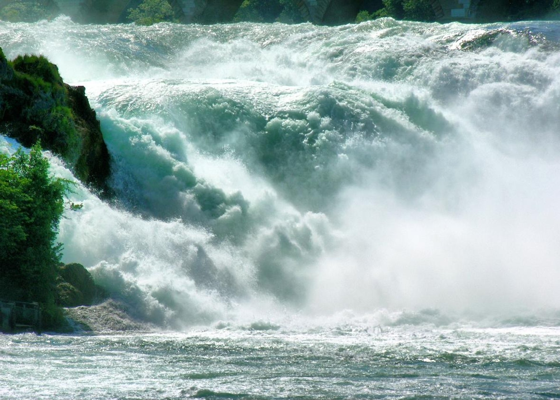 The Rhine Falls in Switzerland - Best Season 2019