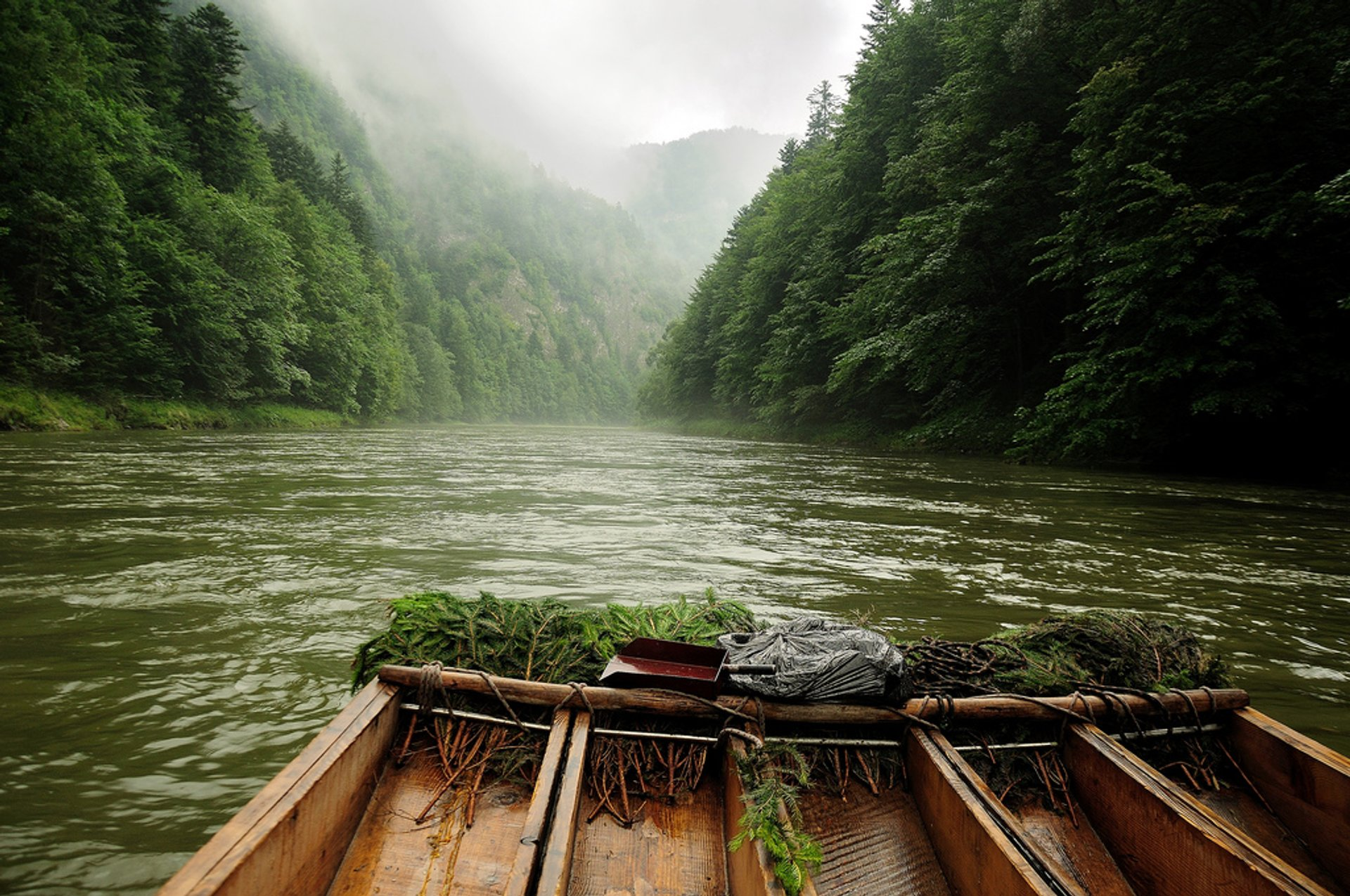 Wood Rafting on Dunajec River in Slovakia 2019 - Best Time