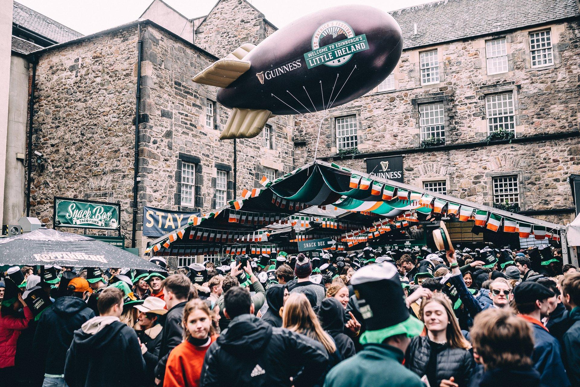 Cowgate St. Patrick's Festival in Edinburgh - Best Season 2020