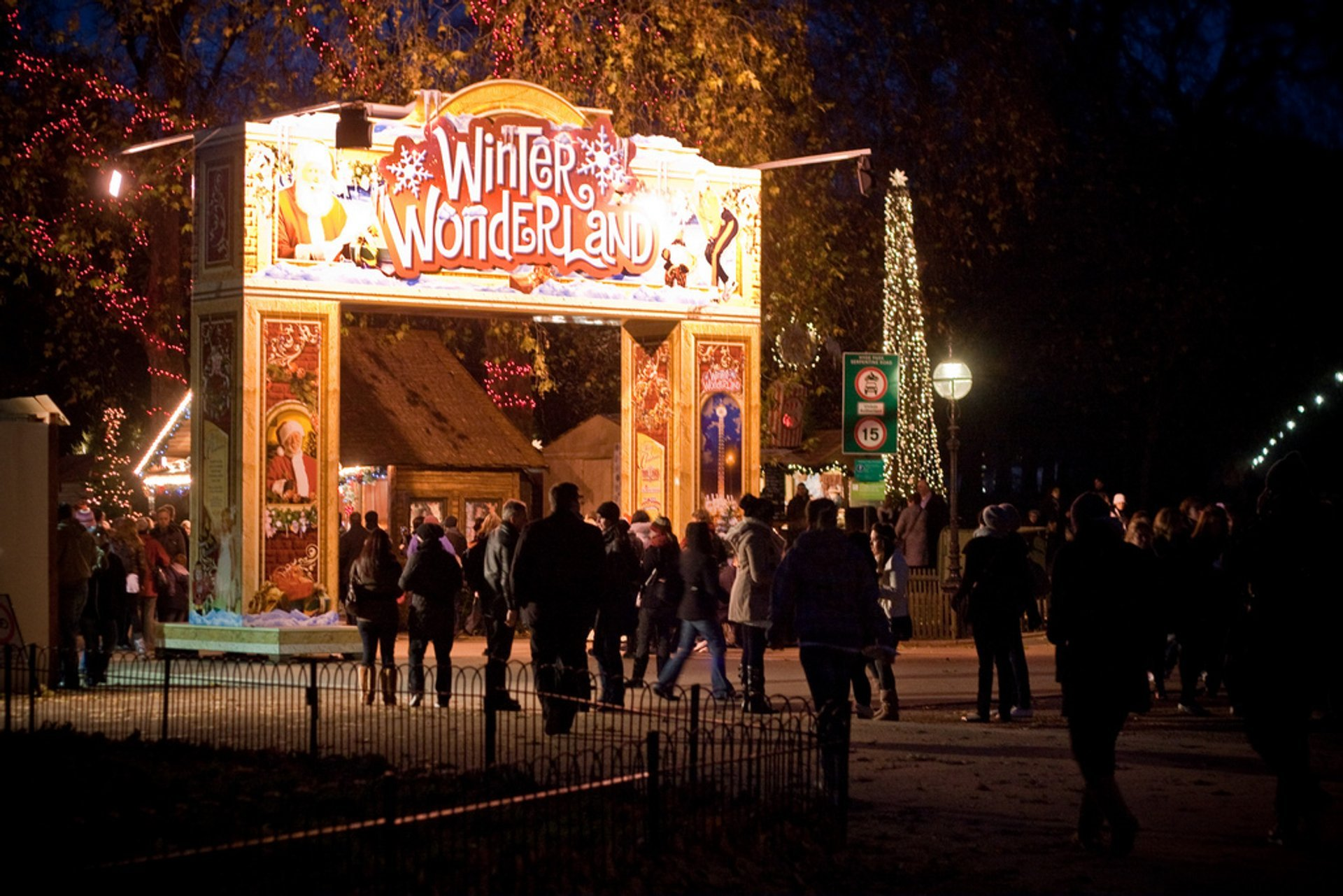 Winter Wonderland in Hyde Park 2019