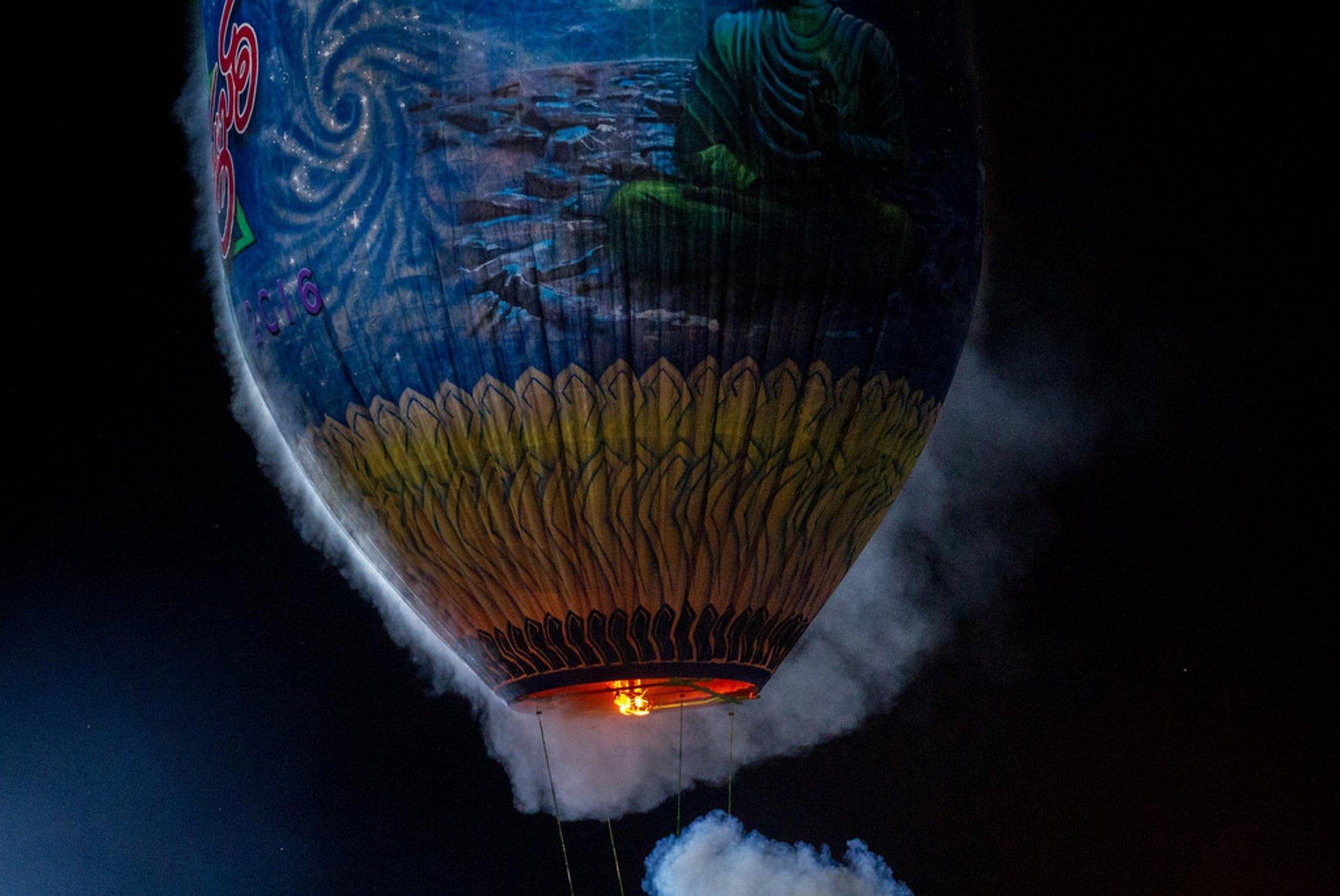 Balloon Festival in Taunggyi in Myanmar - Best Season 2020