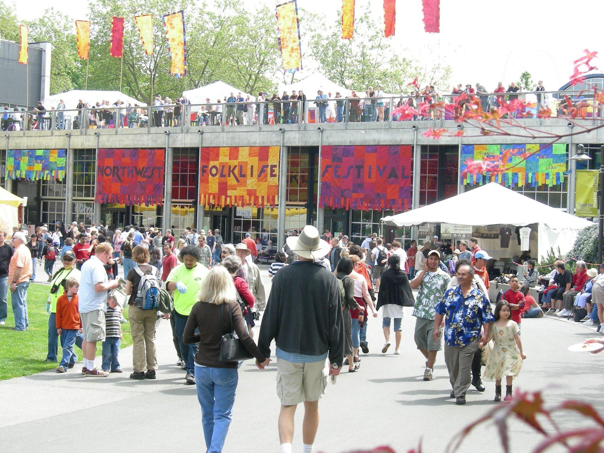 Northwest Folklife Festival in Seattle 2020 - Best Time