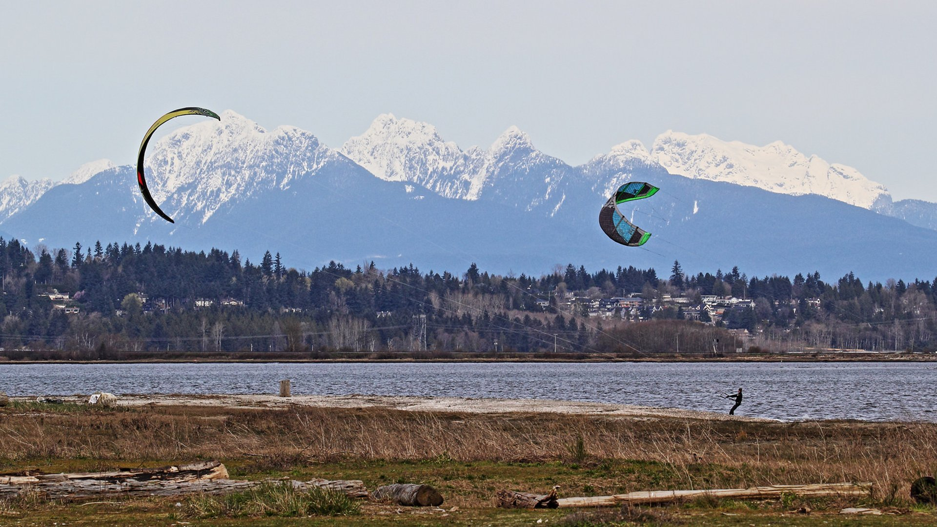 Windsurfing & Kiteboarding in Vancouver 2020 - Best Time