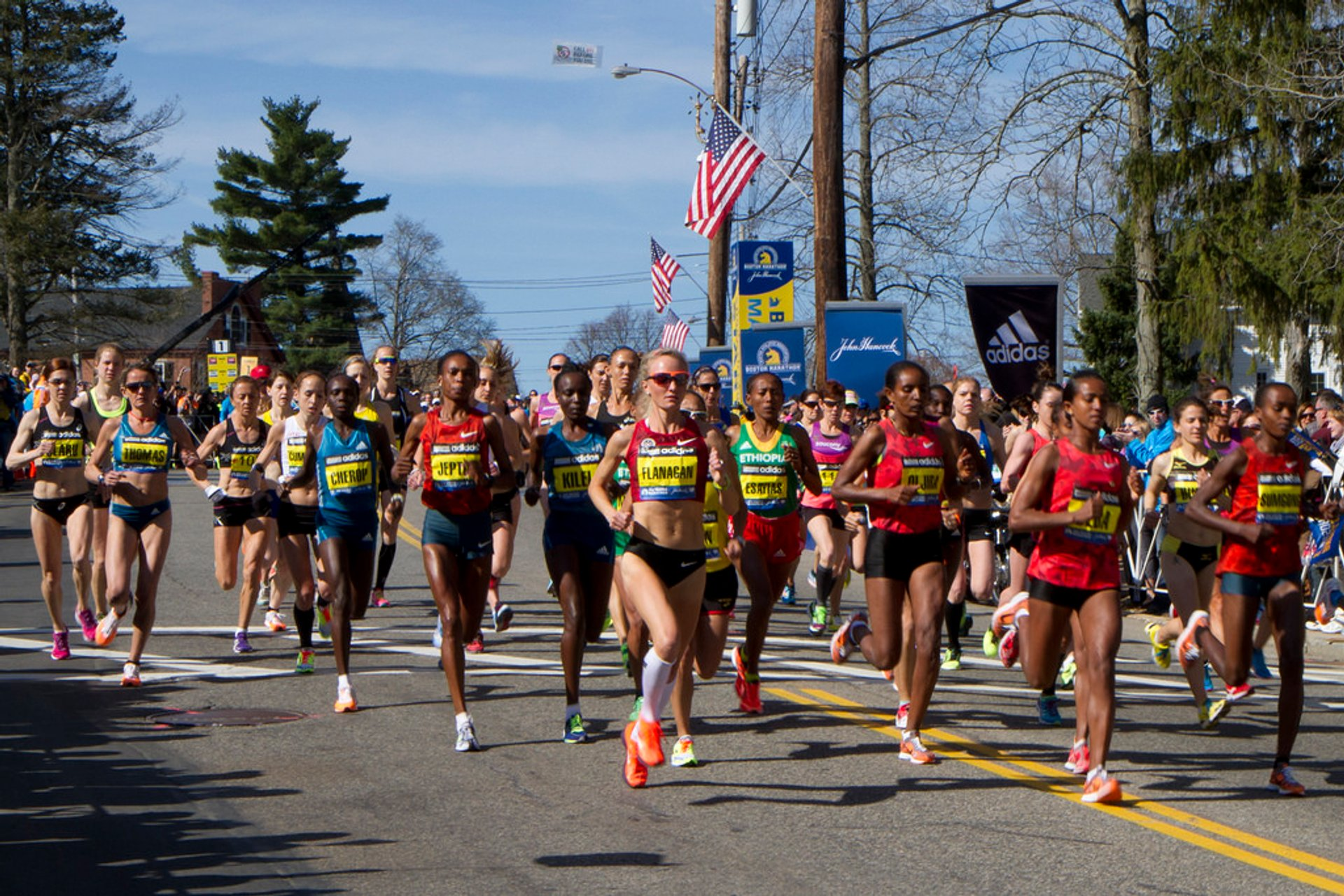 Boston Marathon in Boston - Best Season 2020