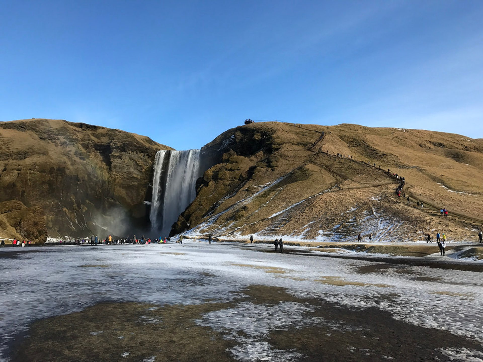 Skógafoss Waterfall