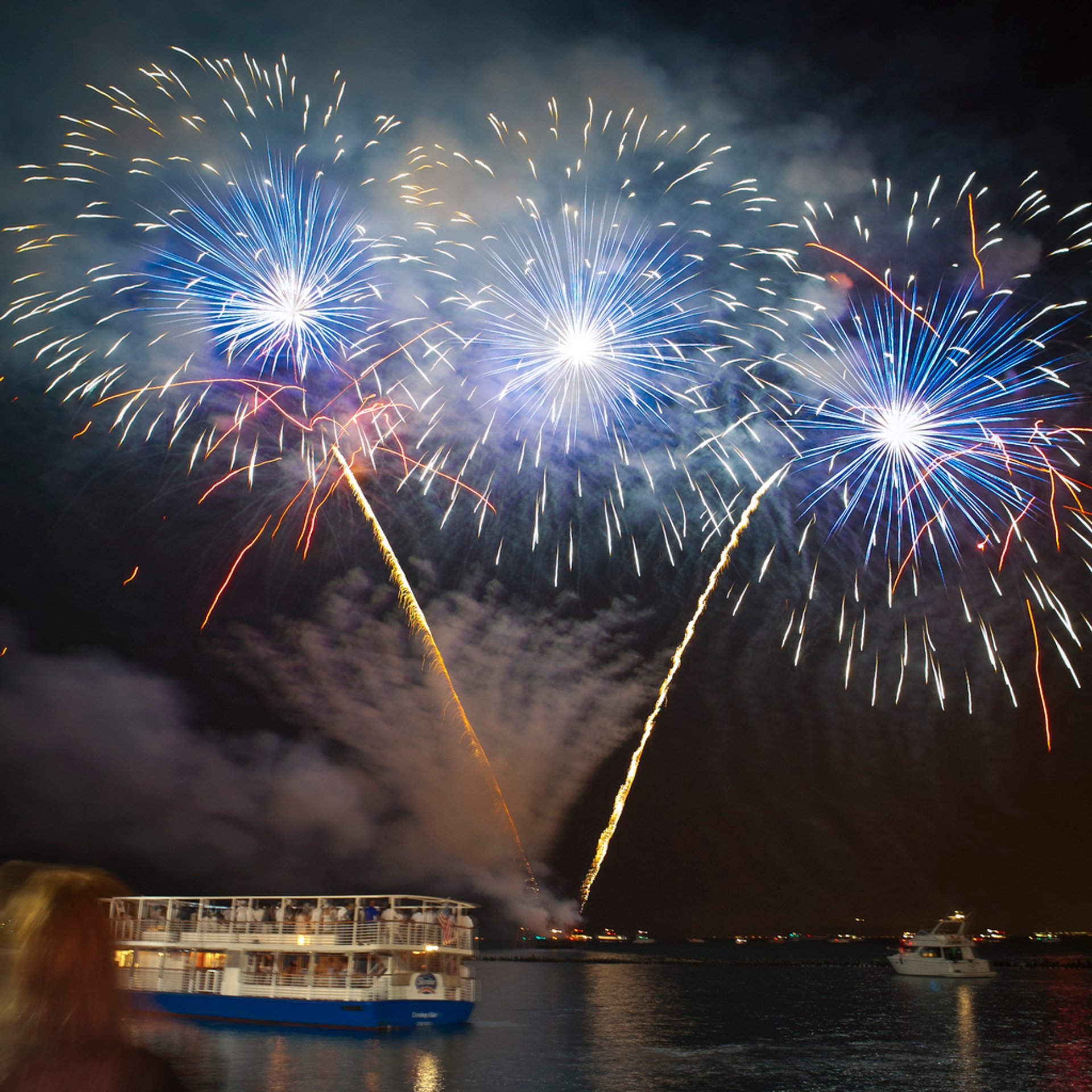 Summer Fireworks at Navy Pier  in Chicago - Best Season 2020