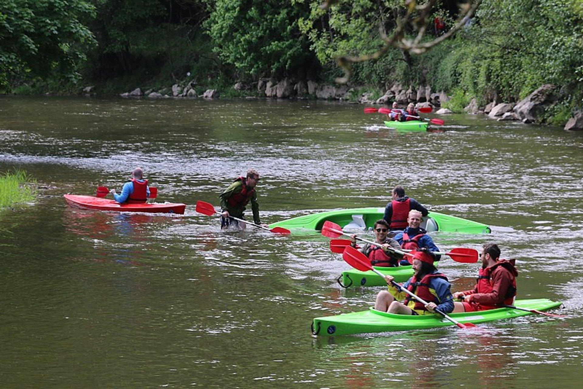 Kayaking & Canoeing in Belgium 2020 - Best Time