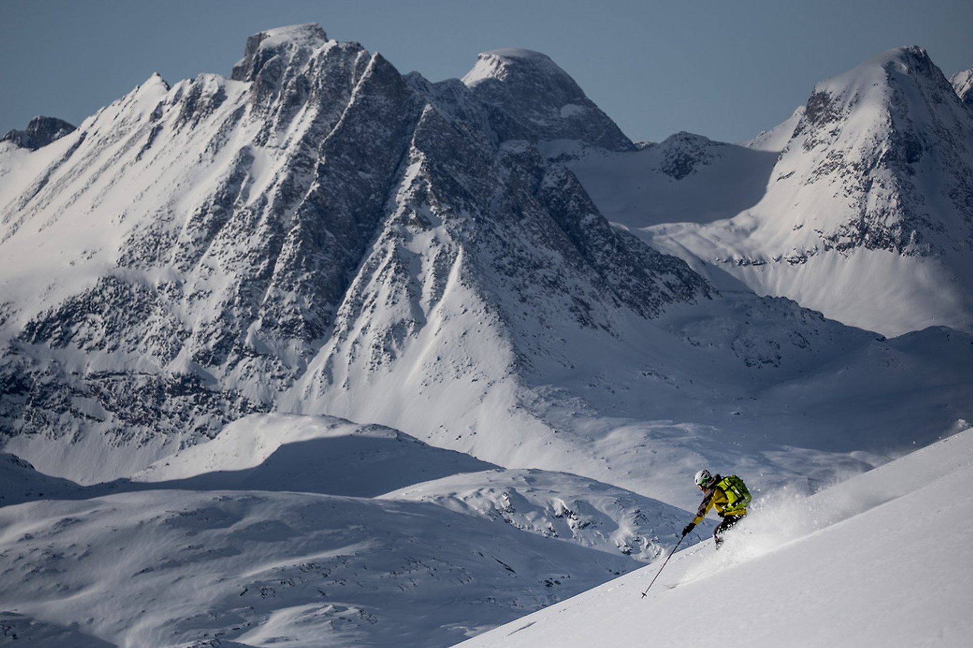 Ski Tours and Heliskiing in Greenland 2020 - Best Time