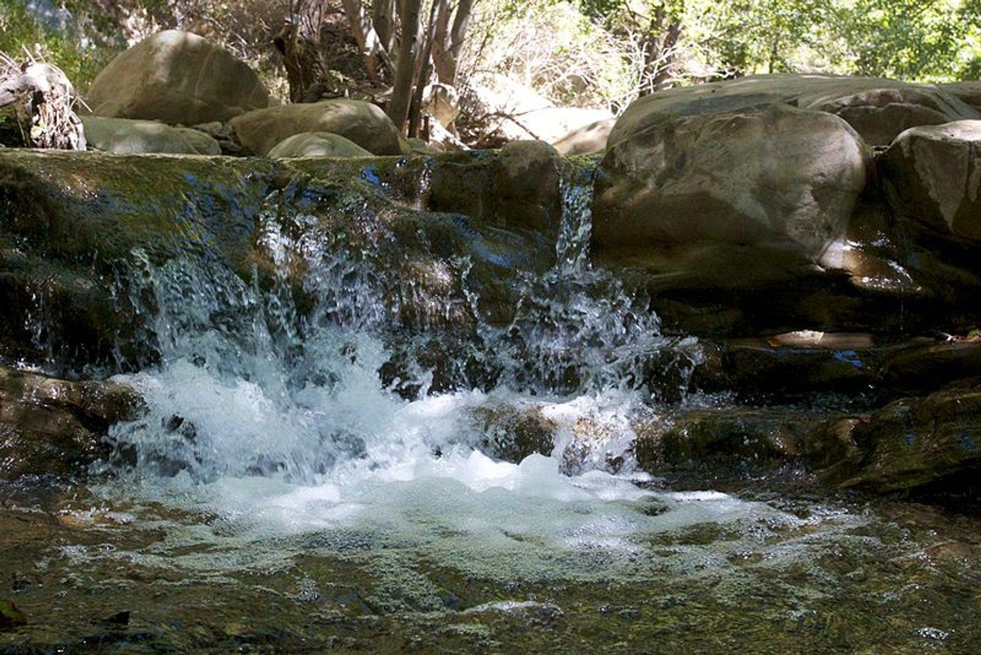 Matilija Falls in California - Best Season