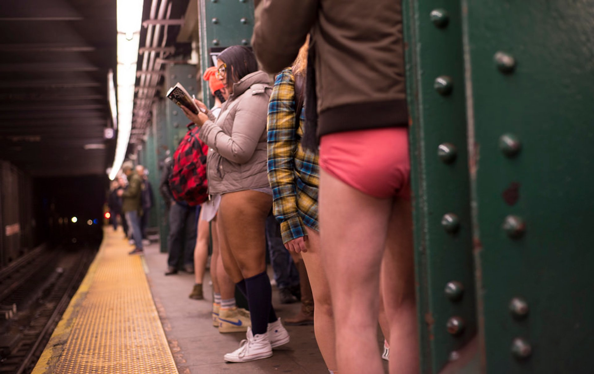 No Pants Subway Ride in New York - Best Time