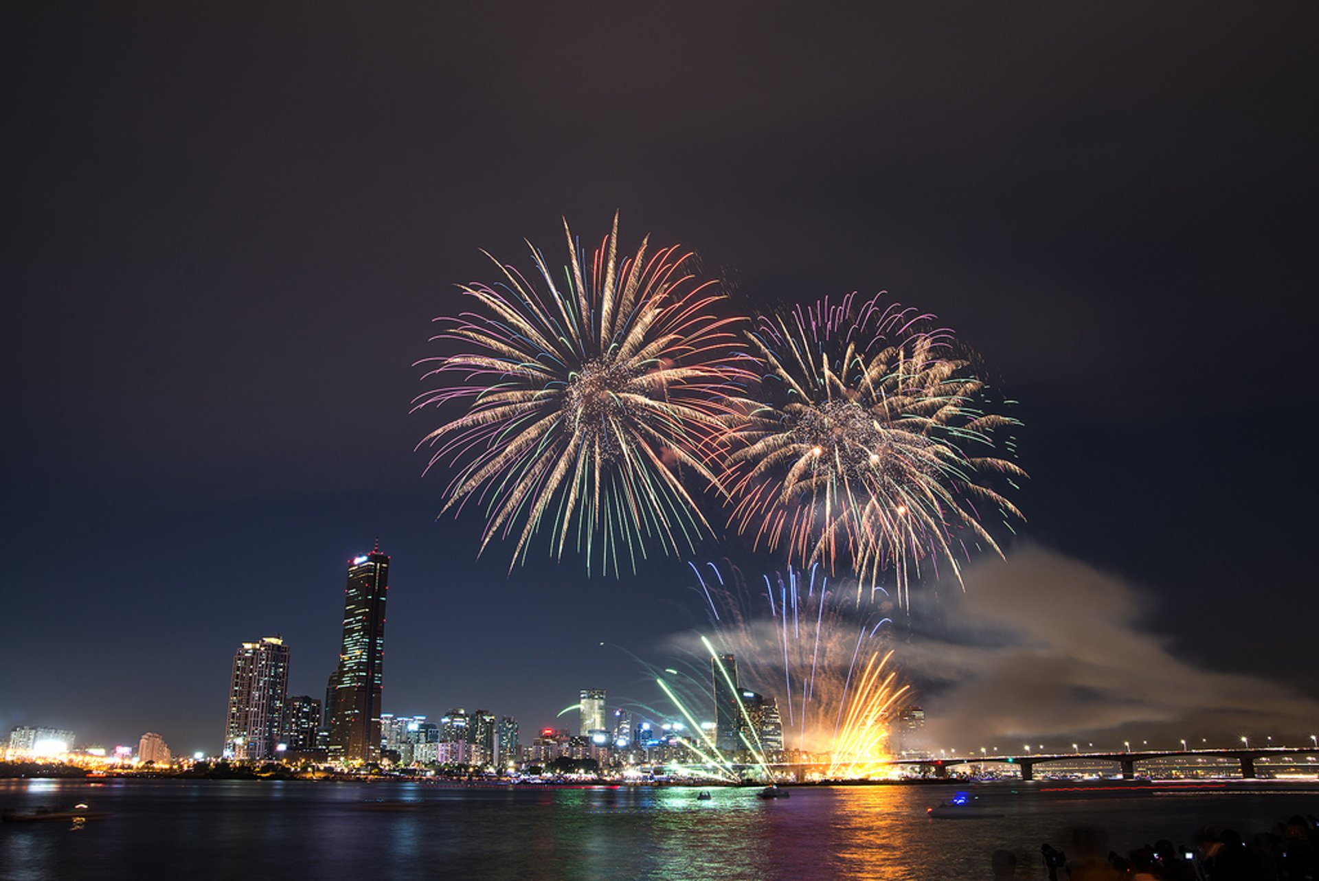 Seoul International Fireworks Festival in Seoul - Best Season 2020