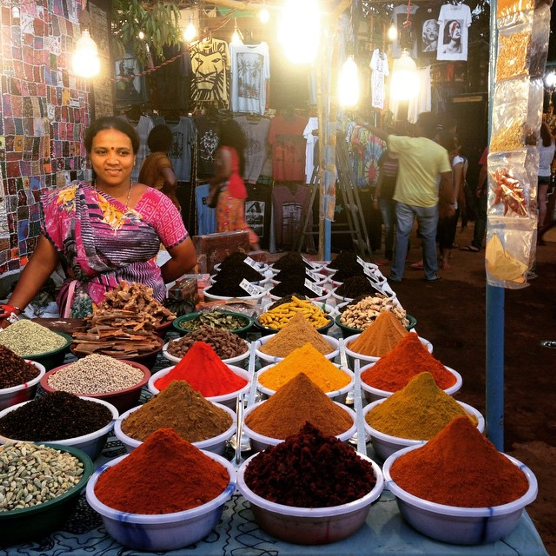 Saturday Night Market in Arpora in Goa - Best Season