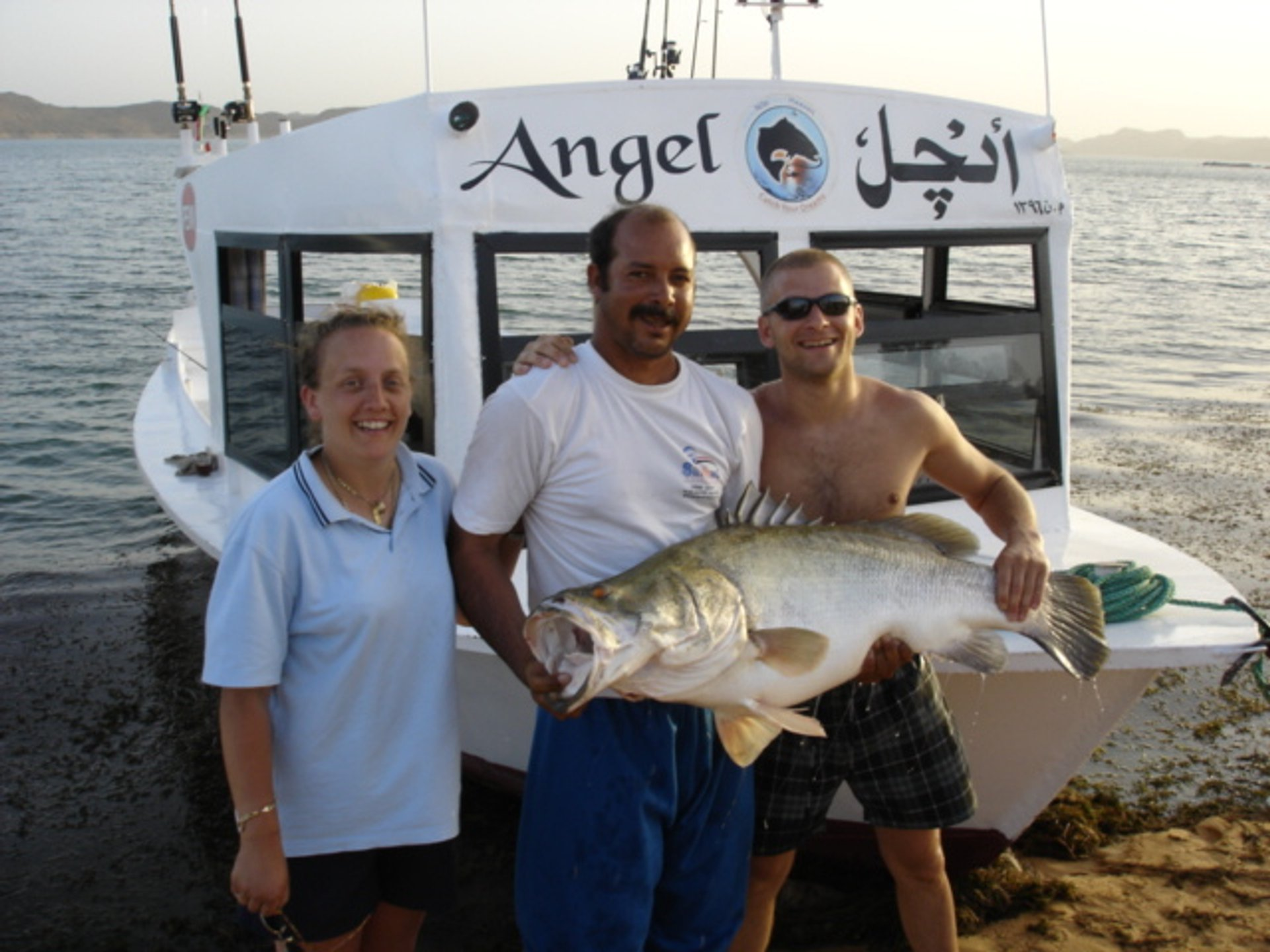 55lb Nile perch on Lake Nasser 2019