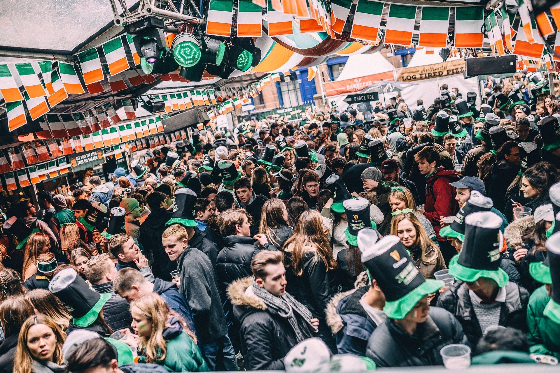 Cowgate St. Patrick's Festival in Edinburgh 2020 - Best Time