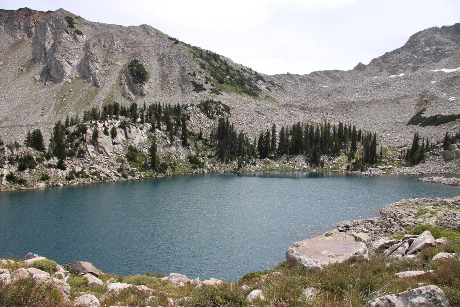 White Pine Lake in Utah - Best Season 2020