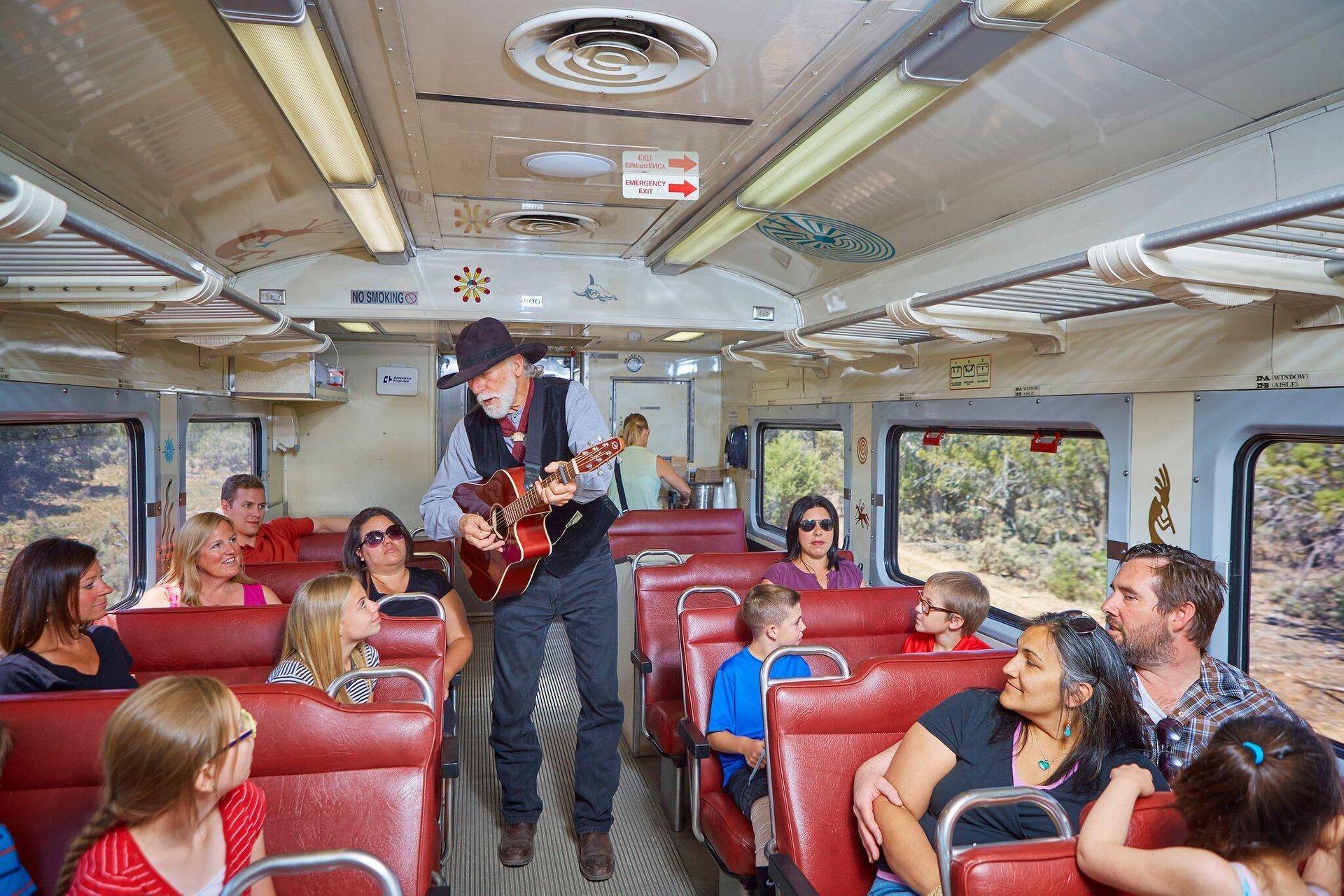 Grand Canyoon Railway coach guitar 2020