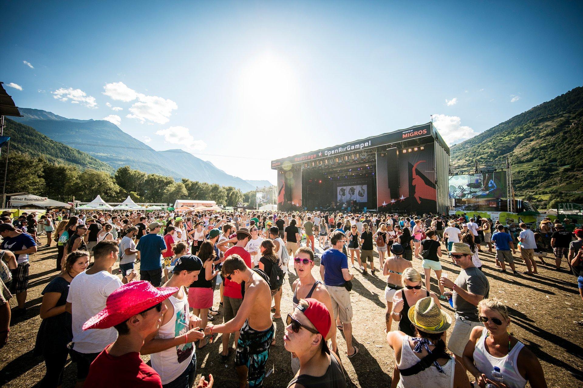 Open Air Gampel in Switzerland - Best Season 2020