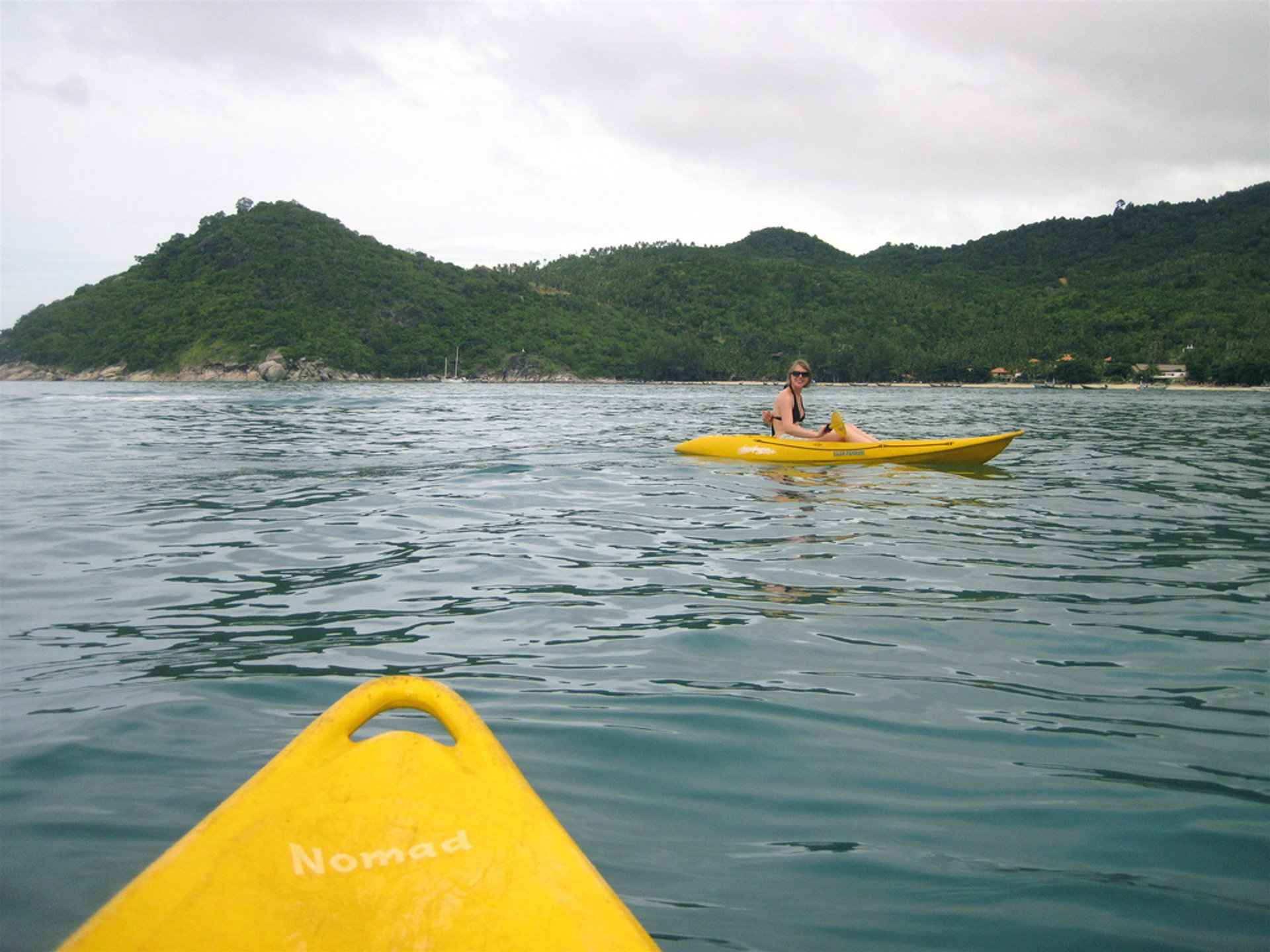 Kayaking on Koh Phangan in Thailand - Best Season 2019