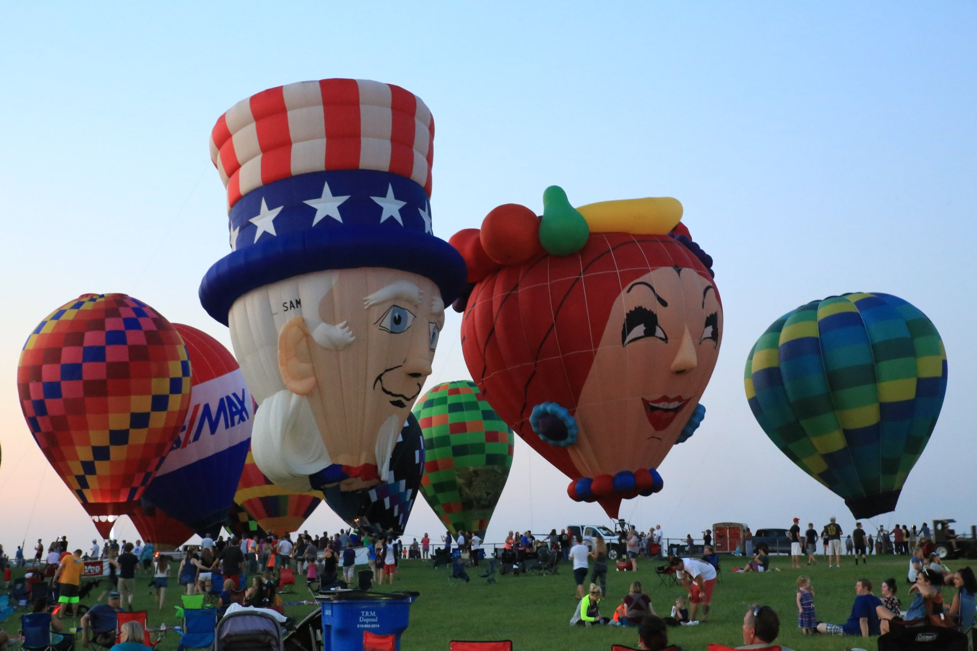 Best time for National Balloon Classic in Iowa 2020