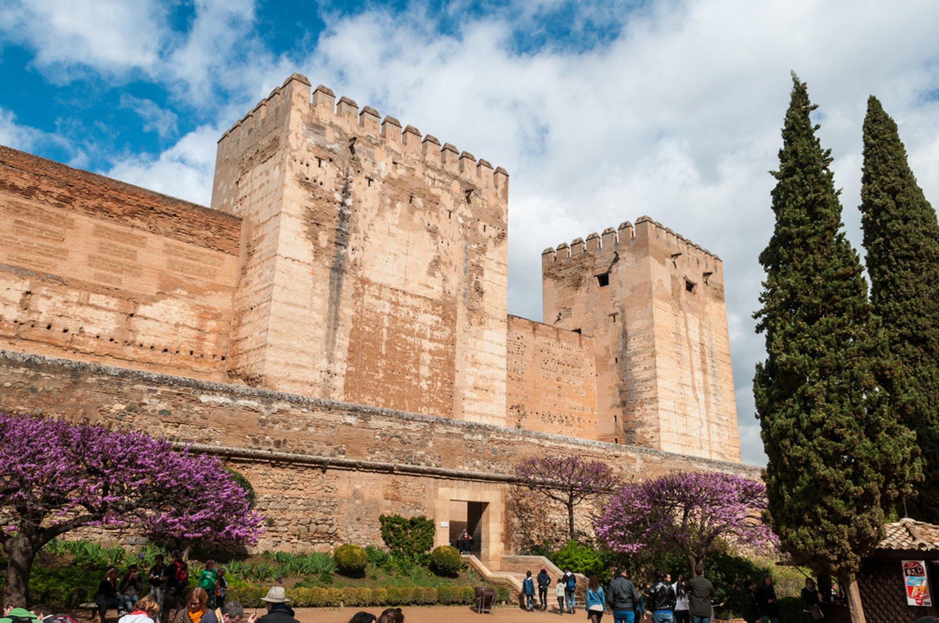 Alcazaba in Alhambra 2019