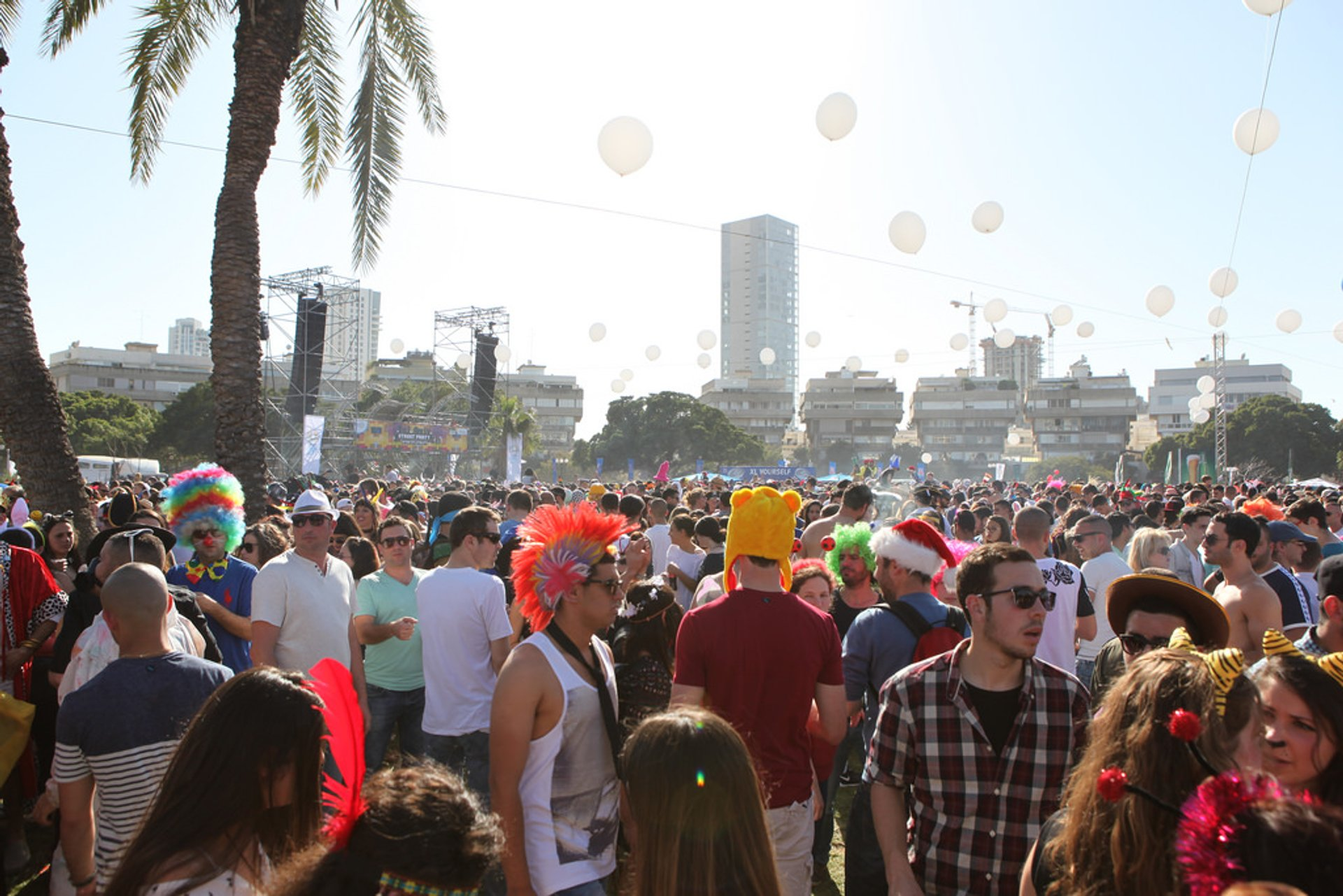 Purim Street Party in Israel 2020 - Best Time