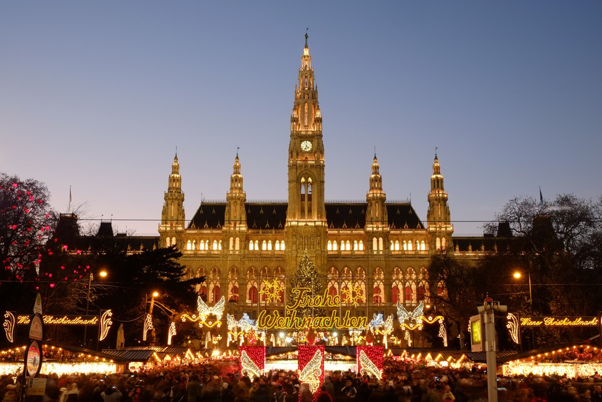 Christmas Lights in Vienna 2019 - Best Time
