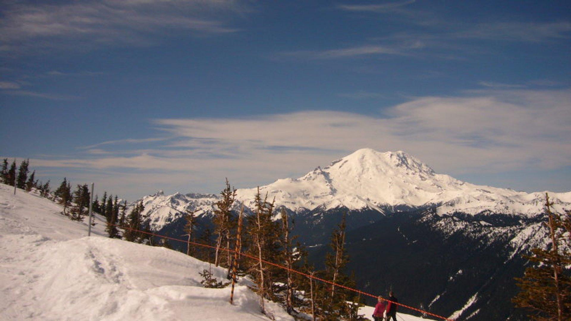 Crystal Mountain Ski area 2020