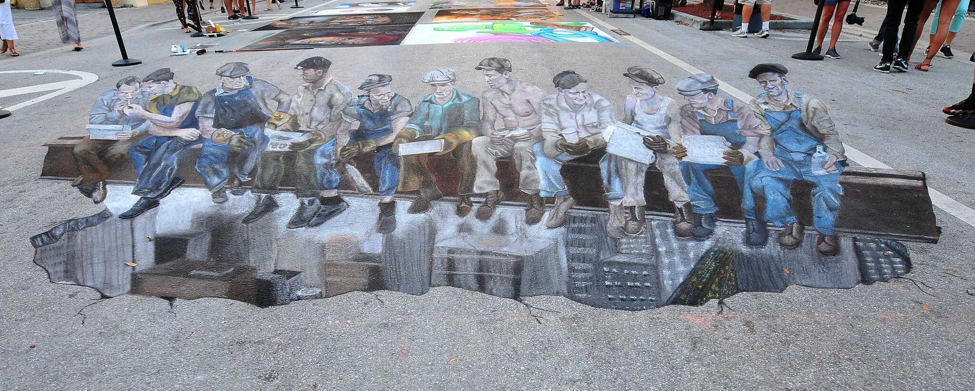 Best time to see Lake Worth Street Painting Festival in Florida 2020