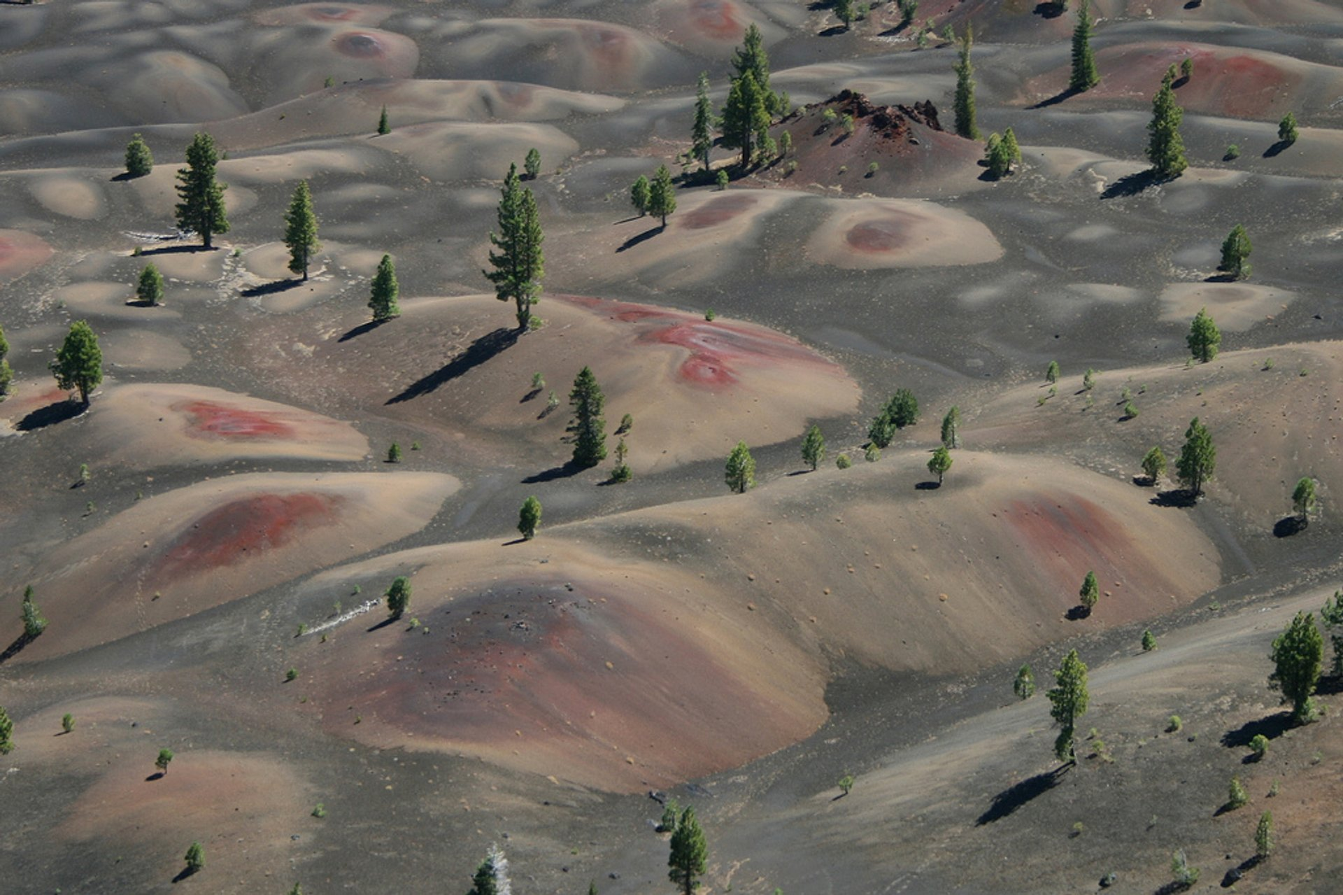 Best time for Painted Dunes in Lassen Volcanic National Park in California 2019
