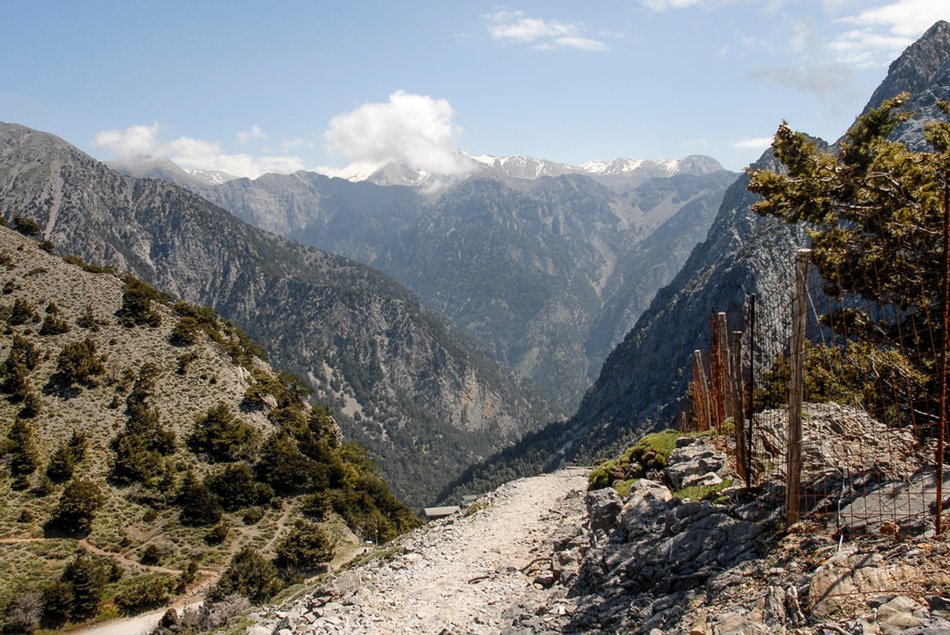 Hiking in Samaria Gorge National Park in Crete 2019 - Best Time