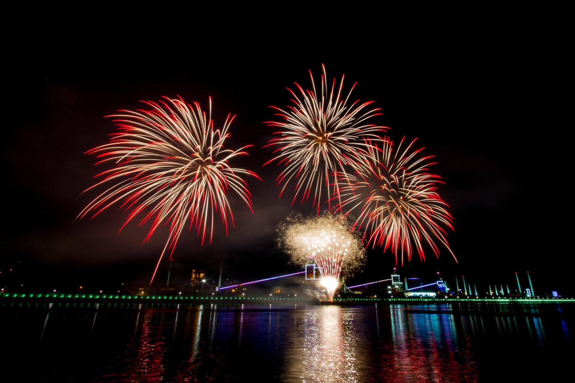 Best time for Pohang International Fireworks Festival in South Korea 2020