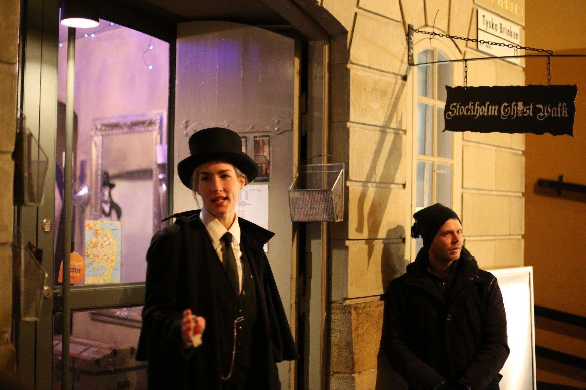 Stockholm ghost walk 2020