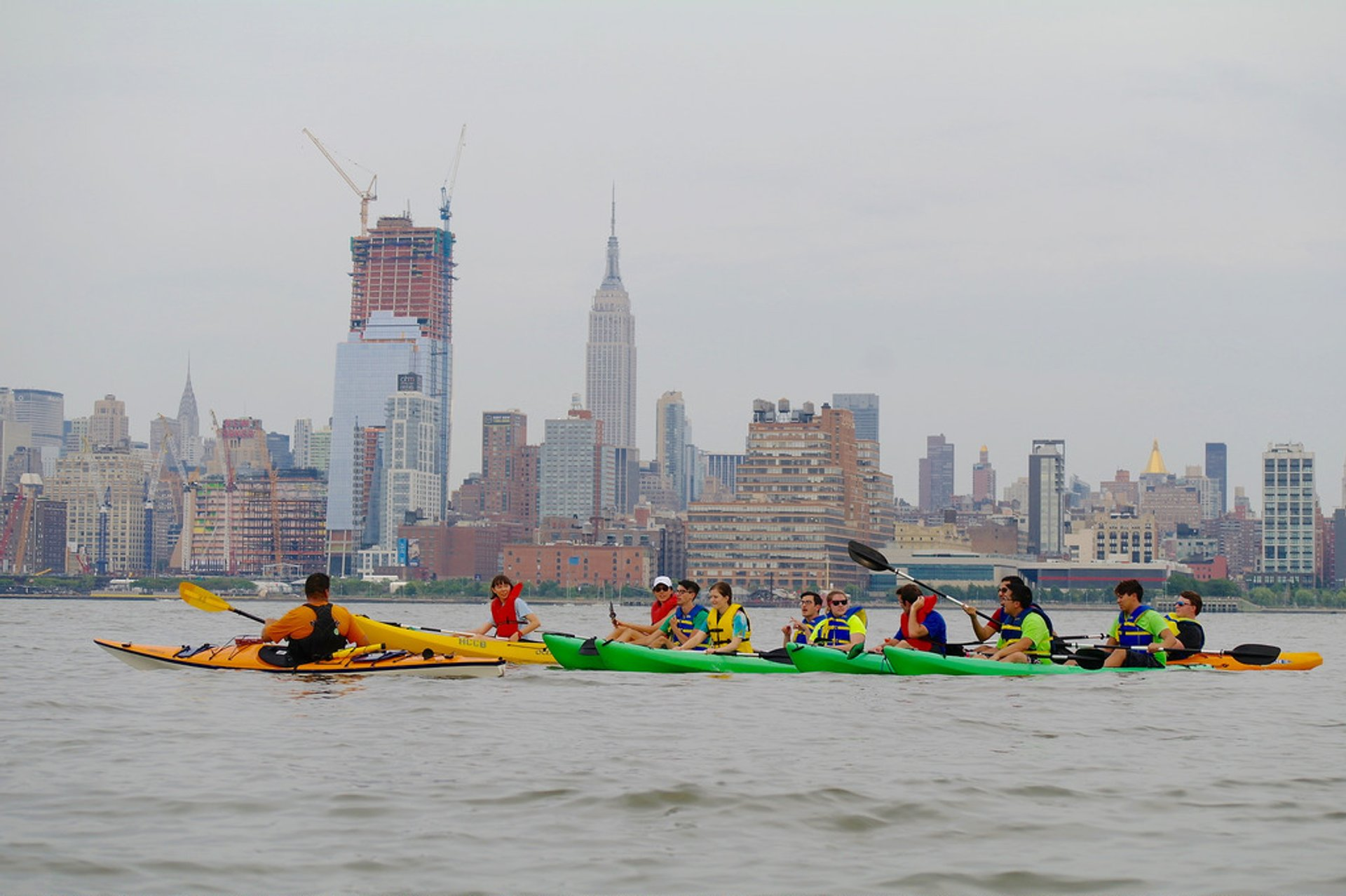 Kayaking on the Hudson in New York - Best Time